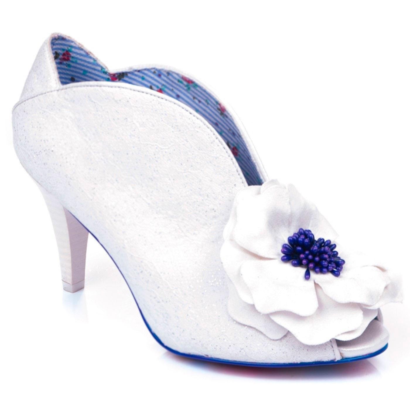 Marry Me IRREGULAR CHOICE Peep Toe Wedding Heels