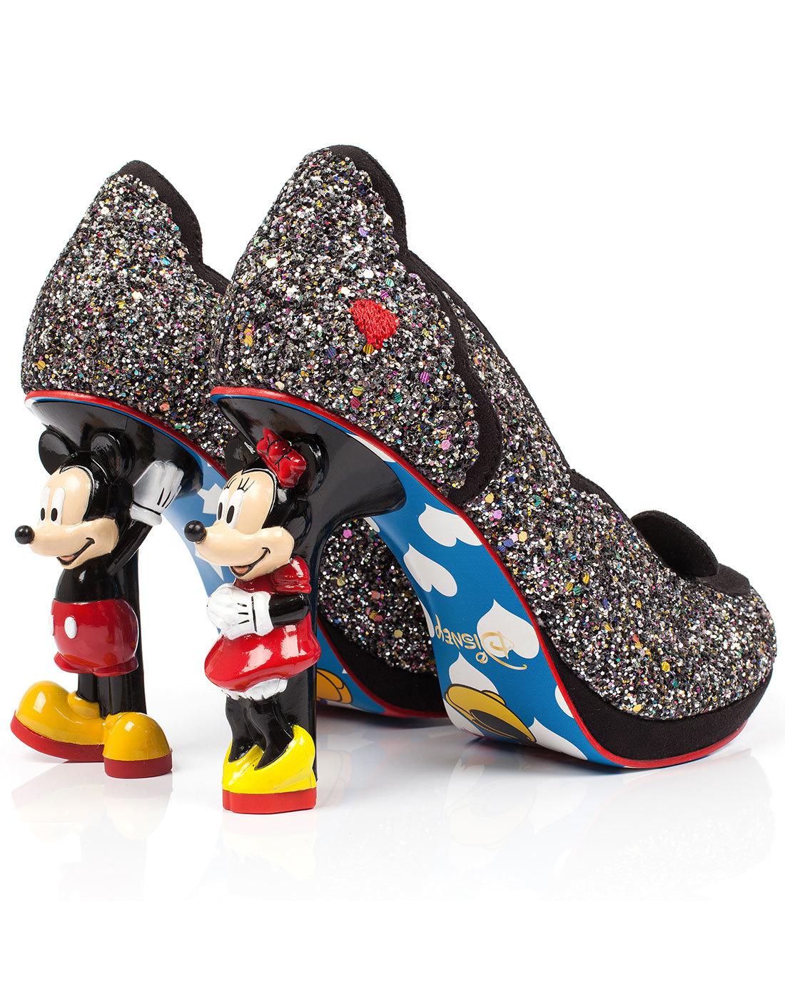 IRREGULAR CHOICE Mickey \u0026 Minnie Mouse
