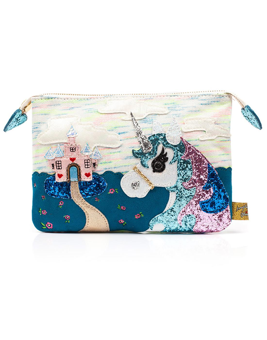 King of the Castle IRREGULAR CHOICE Unicorn Pouch