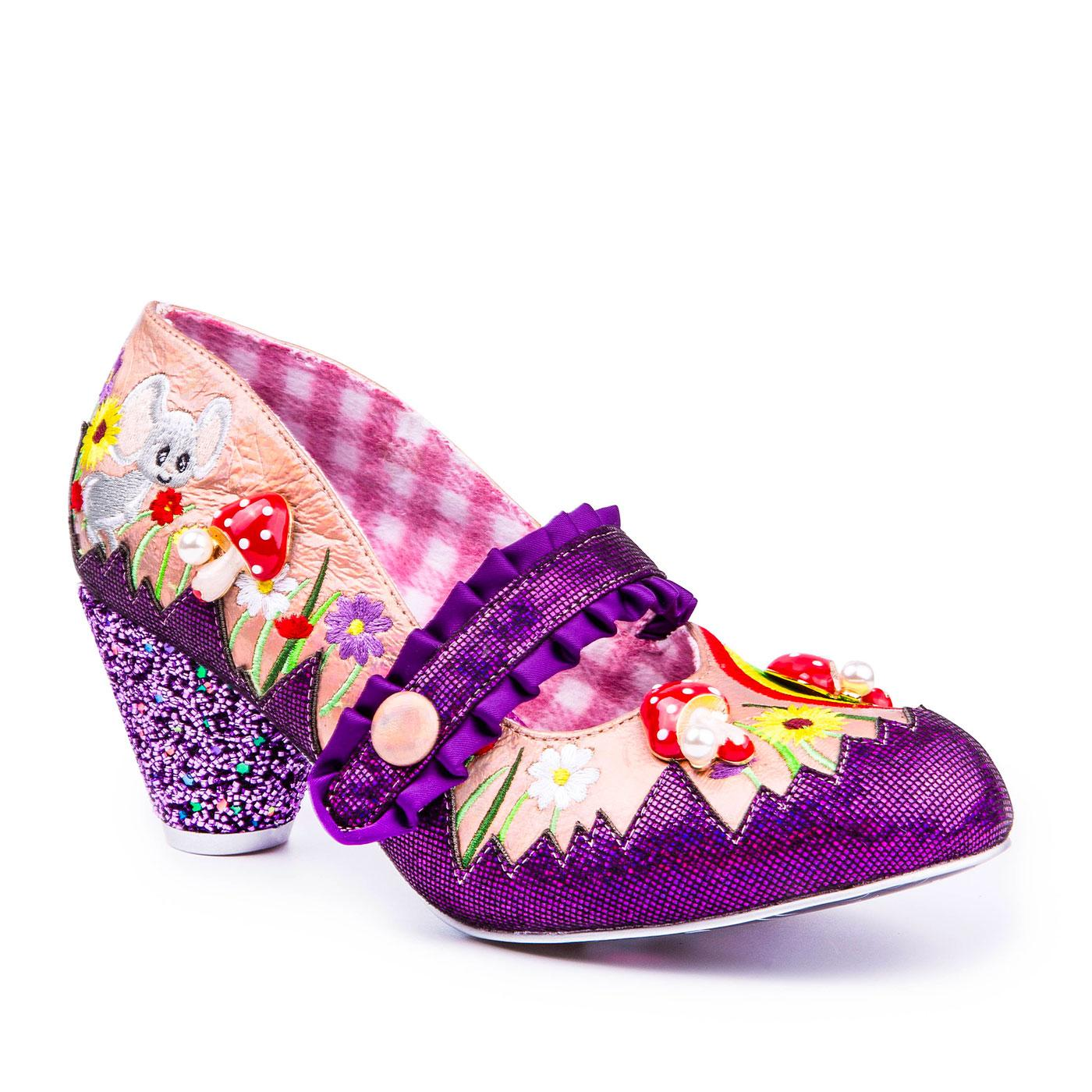 Pipsqueak IRREGULAR CHOICE Rainbow Mouse Shoes