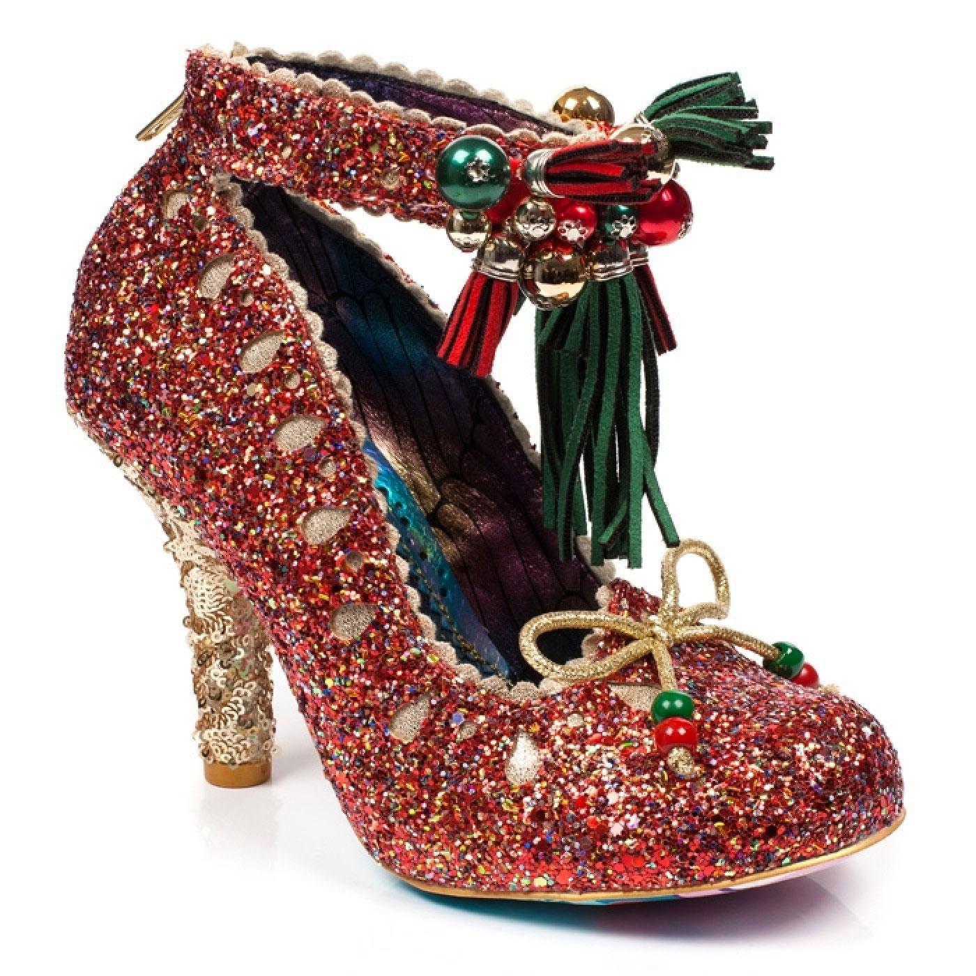 Princess Promise IRREGULAR CHOICE Glitter Heels R