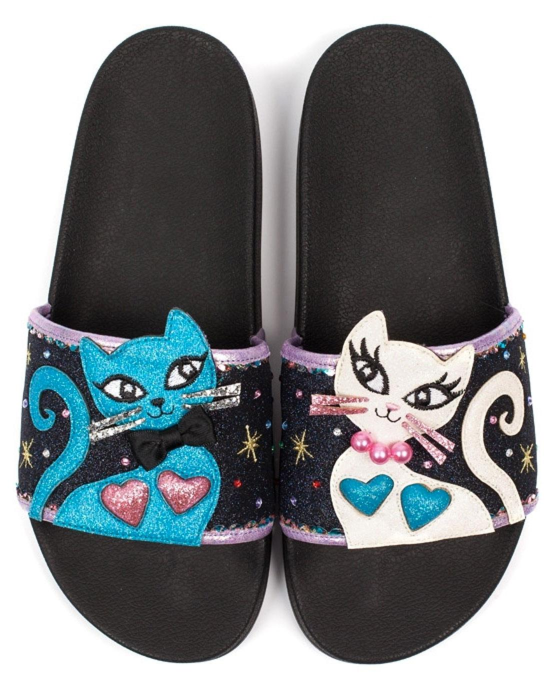Purfect Pretty IRREGULAR CHOICE Pool Slide Sandals