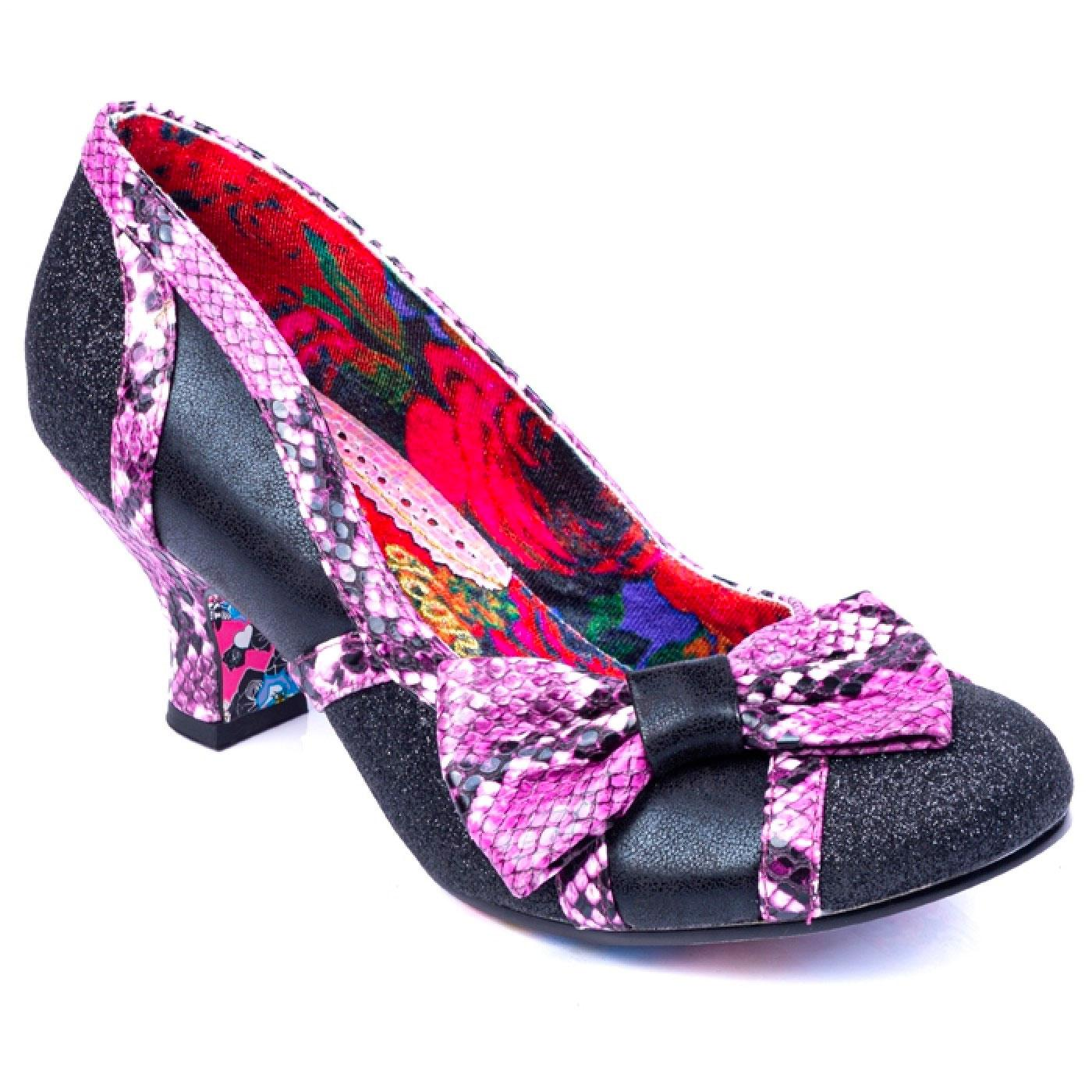 Shake It IRREGULAR CHOICE Faux Snakeskin Heels