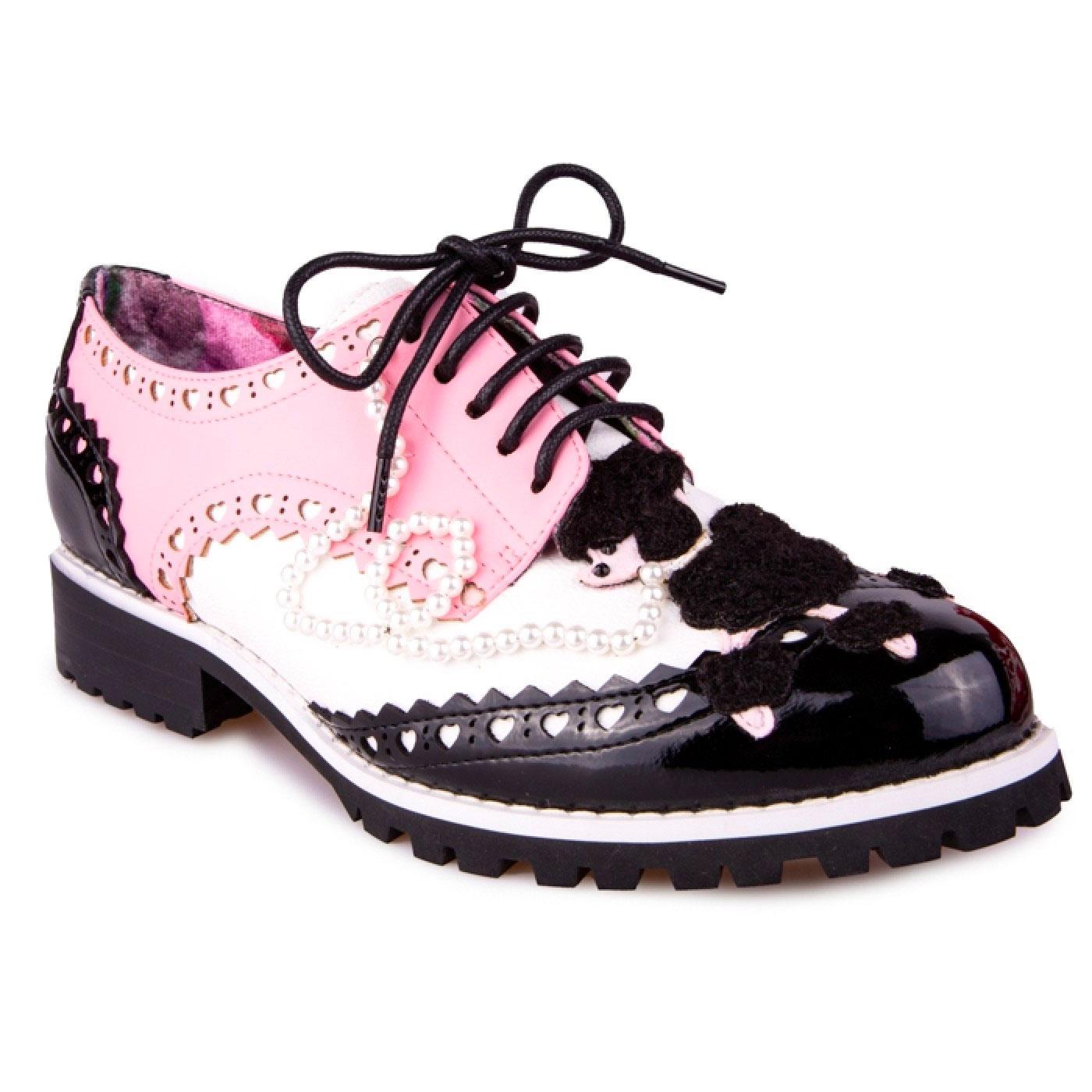 Sockhop Sweetie IRREGULAR CHOICE 50s Brogue Shoes