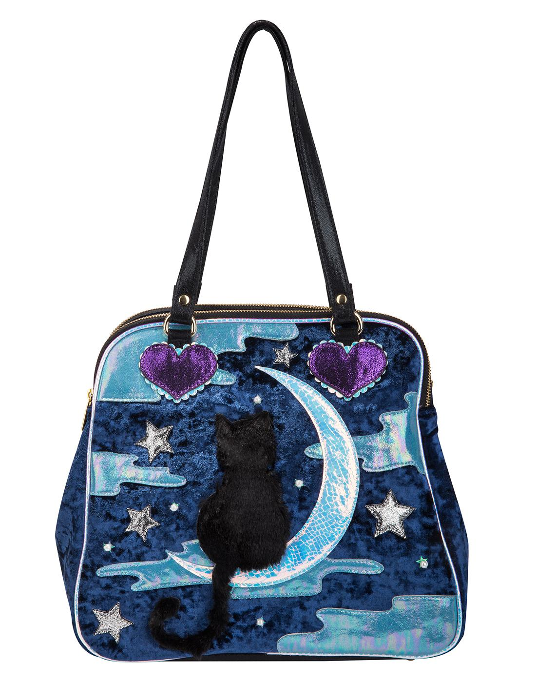 Starry Night IRREGULAR CHOICE Cat In The Moon Bag