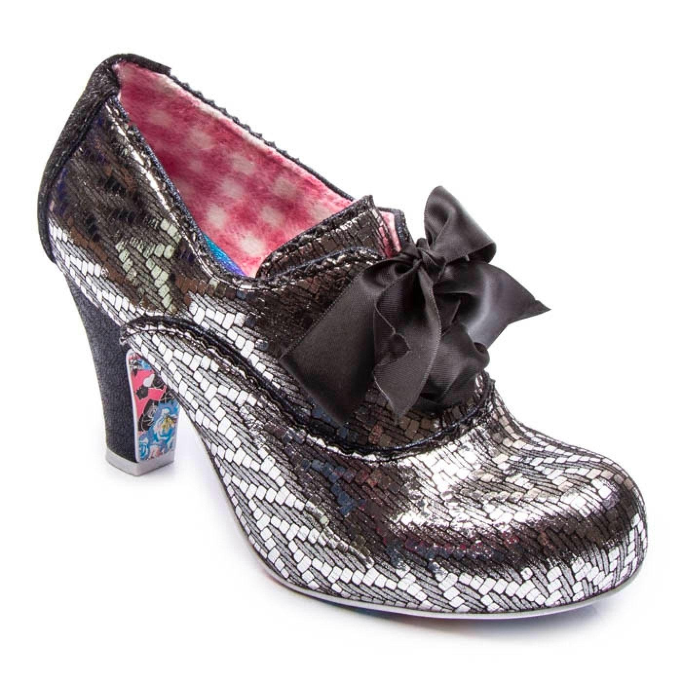 Summer Berries IRREGULAR CHOICE 70s Silver Shoes