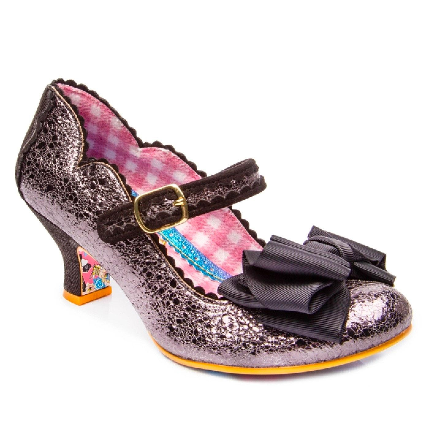 Summer Breeze IRREGULAR CHOICE Silver Party Shoes