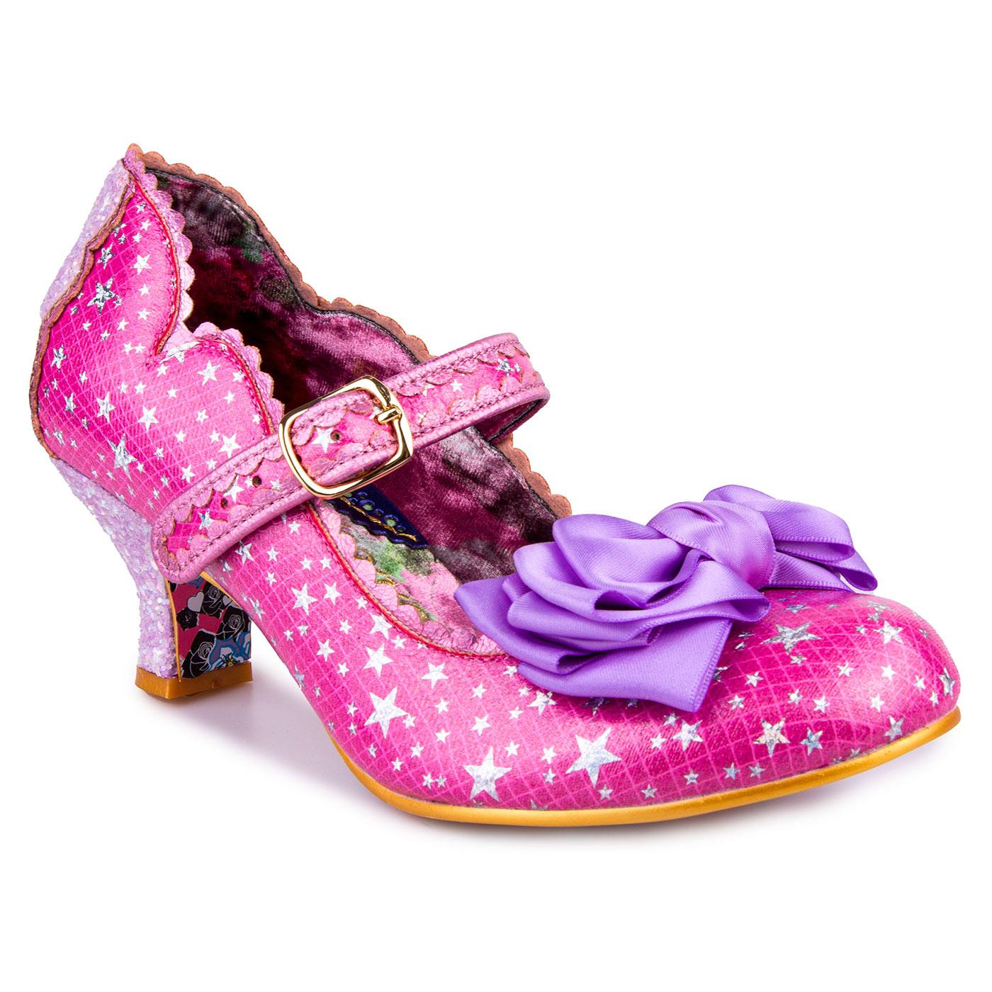 Summer Breeze IRREGULAR CHOICE Star Glitter Heels