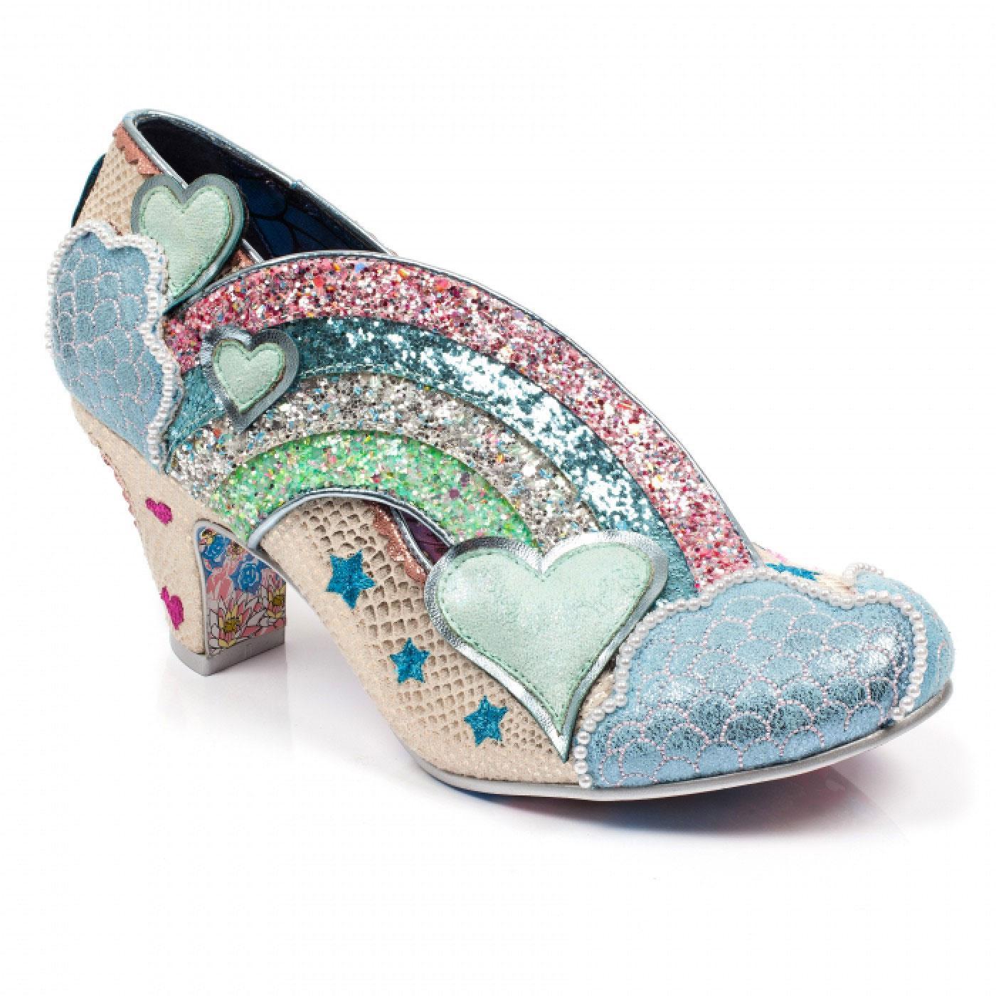 Summer Of Love IRREGULAR CHOICE Rainbow Heels W