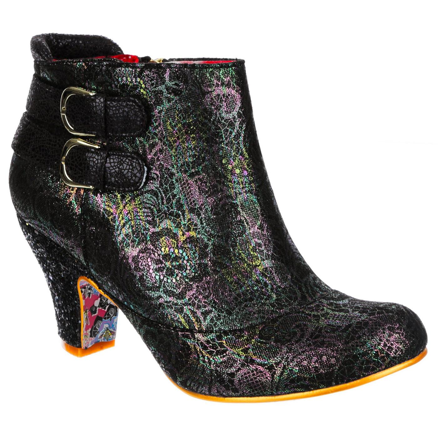 Think About It IRREGULAR CHOICE Floral Heel Boot B