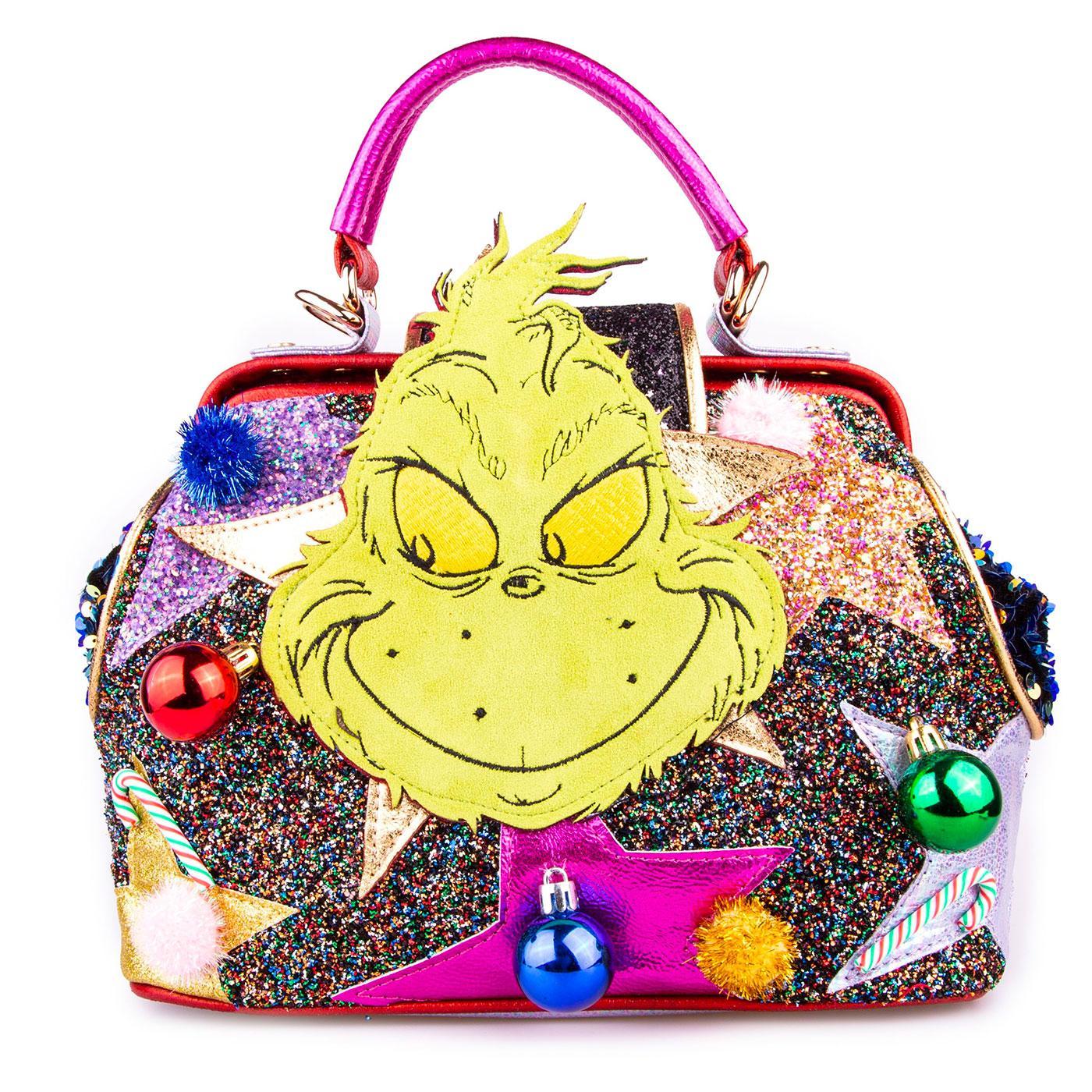 IRREGULAR CHOICE x GRINCH Vengeful & Mean Bag