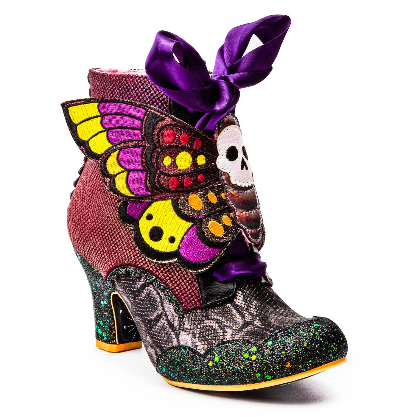 Wicked Wings IRREGULAR CHOICE Halloween Boots