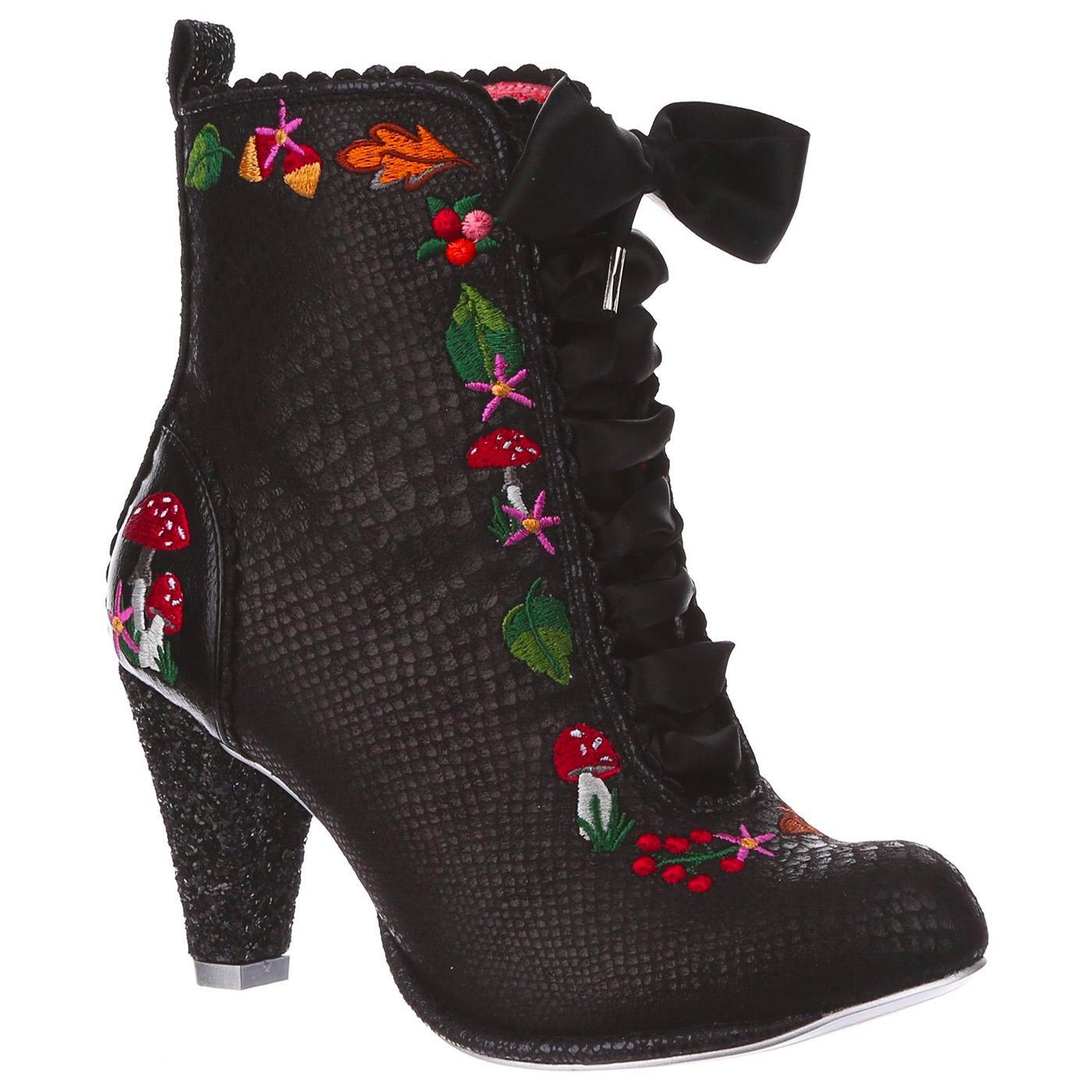 Woodland Wander IRREGULAR CHOICE Heel Boots (B)