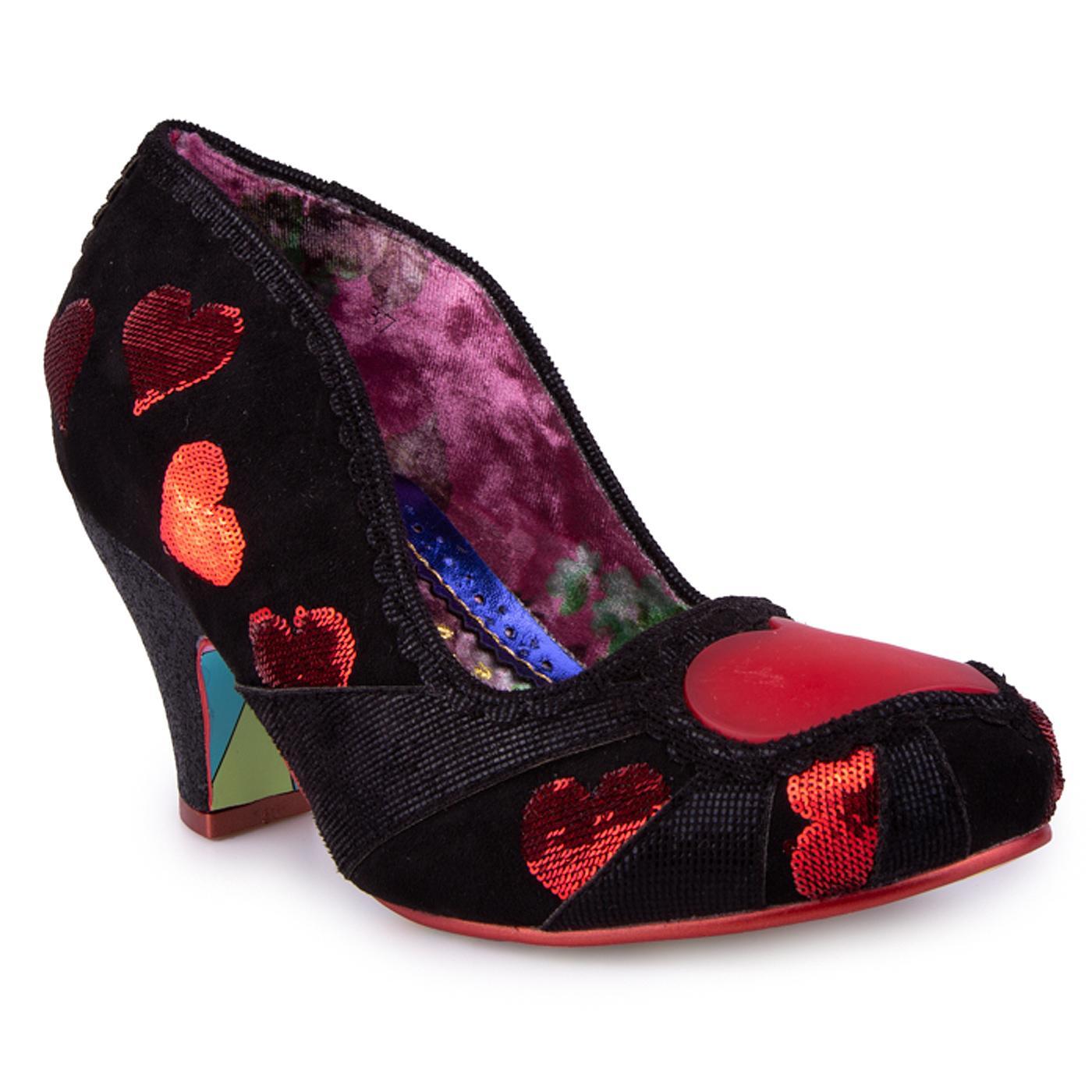Heart On Your Sleeve IRREGULAR CHOICE Shoes B