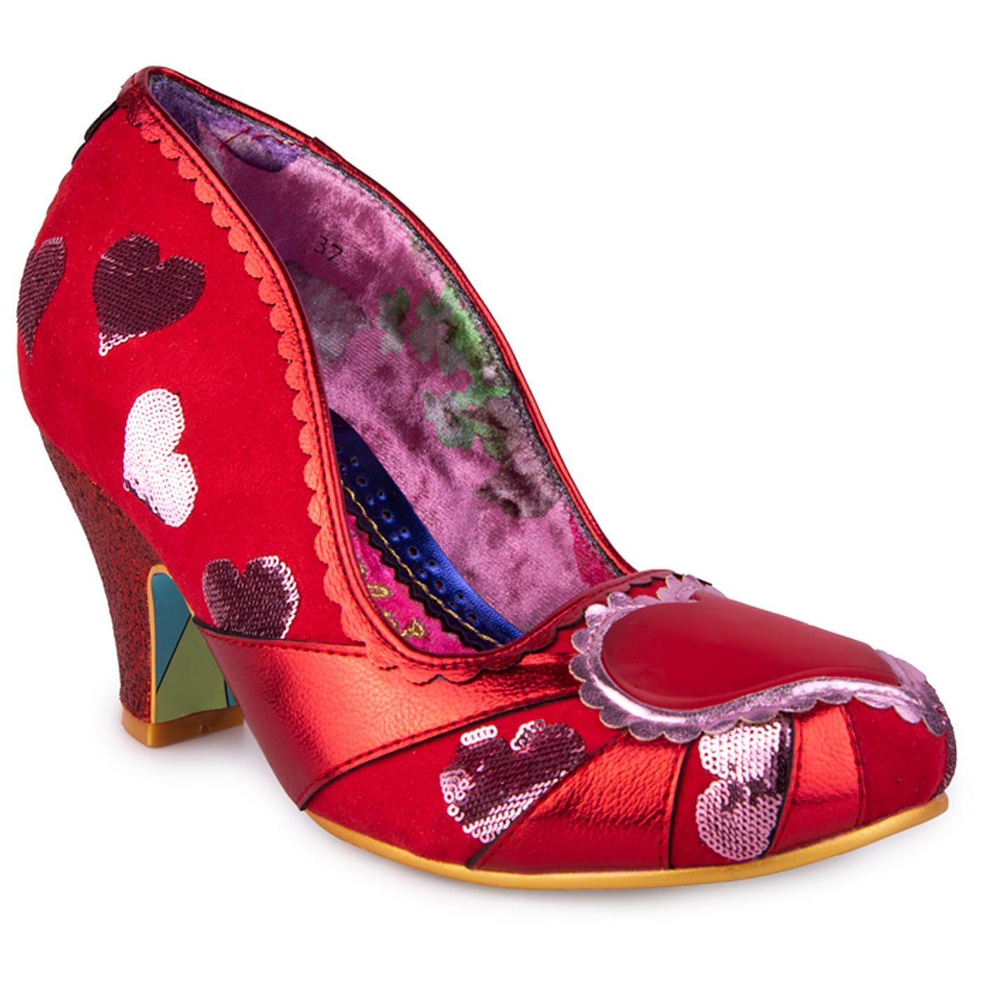 Heart On Your Sleeve IRREGULAR CHOICE Shoes R