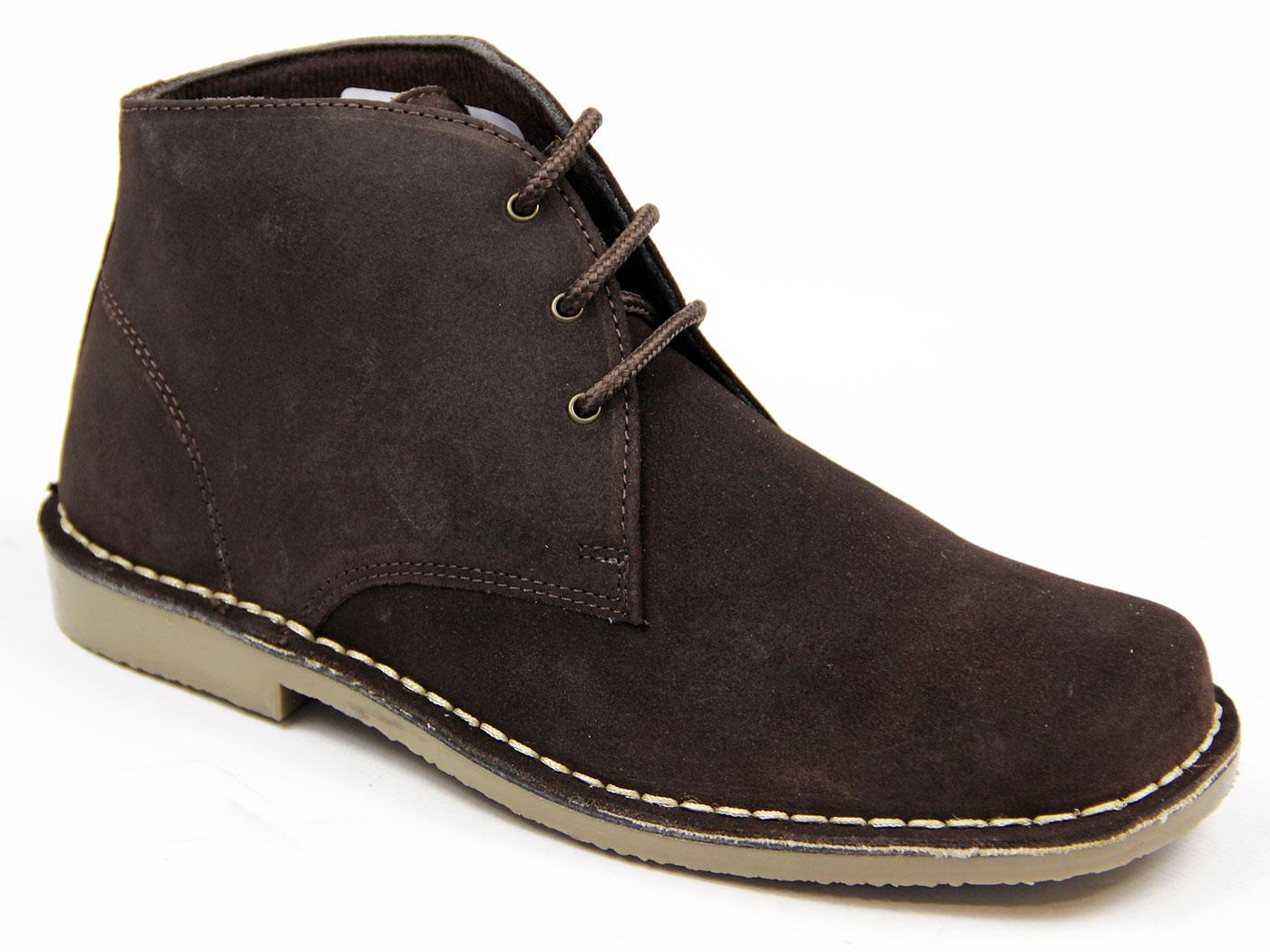 Jimmy Mens Retro Sixties Mod Suede Desert Boots DB