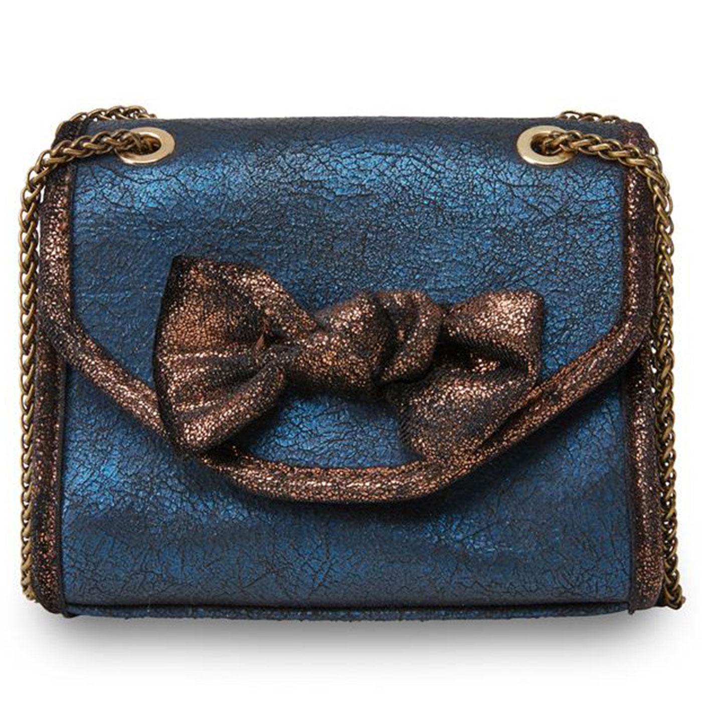 Jezabel JOE BROWNS Vintage Metallic Bow Handbag