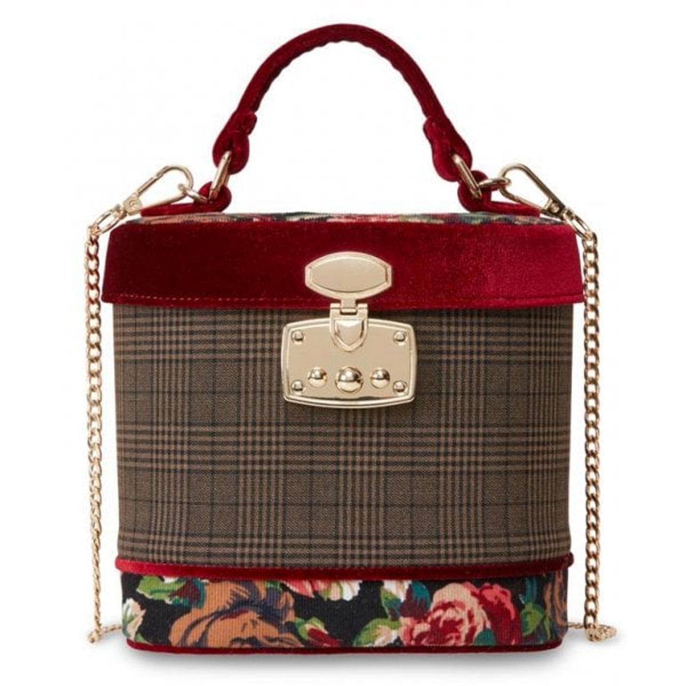 Ruby JOE BROWNS COUTURE Vintage Tweed Box Bag