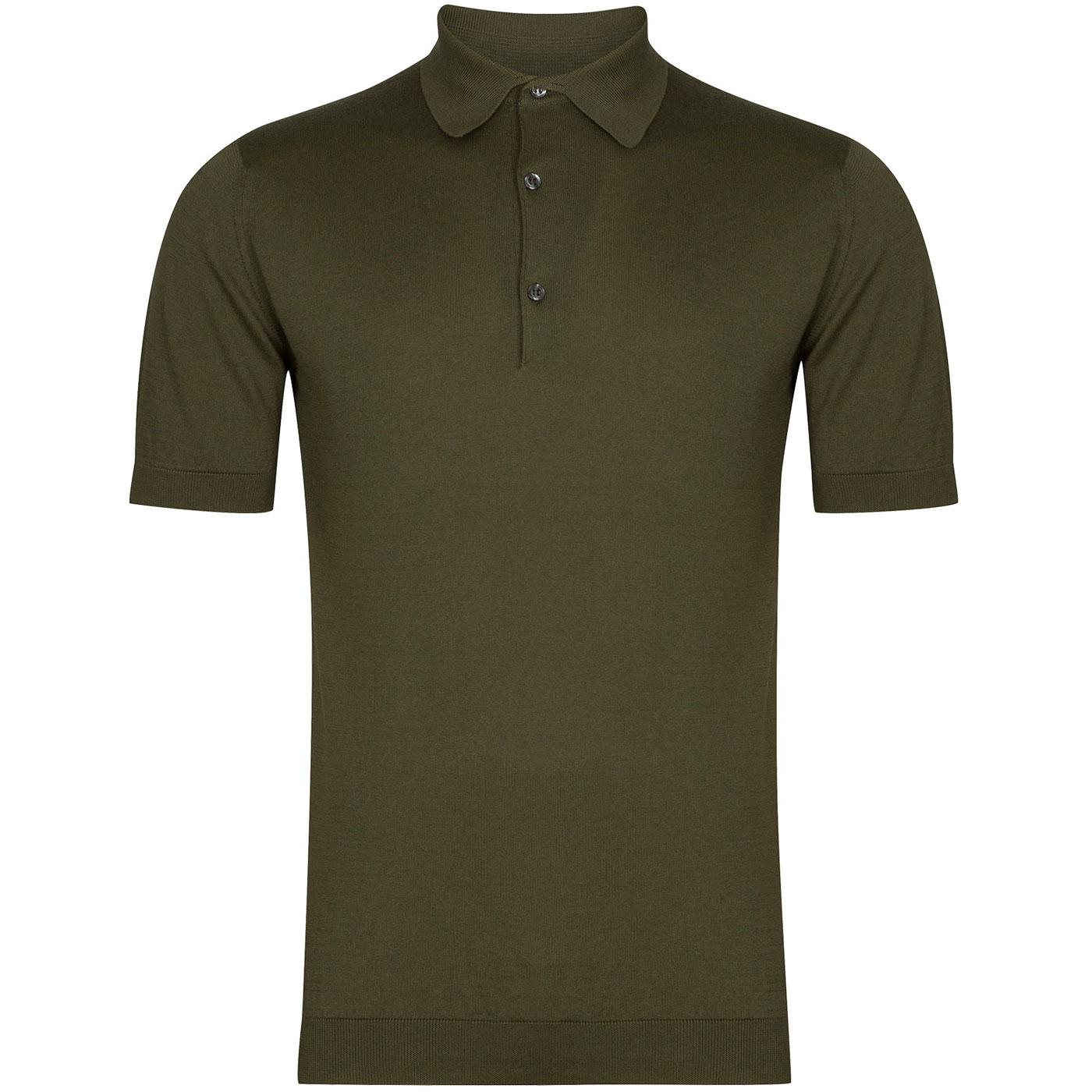 Adrian JOHN SMEDLEY Made in England Polo Top (SG)