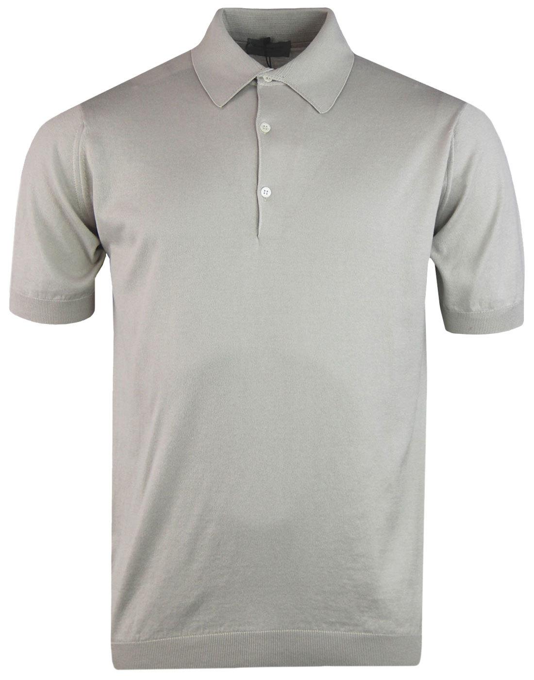 Adrian JOHN SMEDLEY Mod Standard Fit Polo Beige
