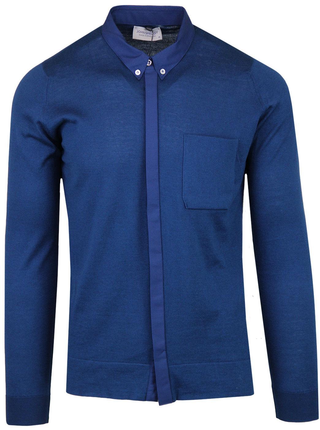 Banwell JOHN SMEDLEY 60s Mod Knitted Pocket Shirt