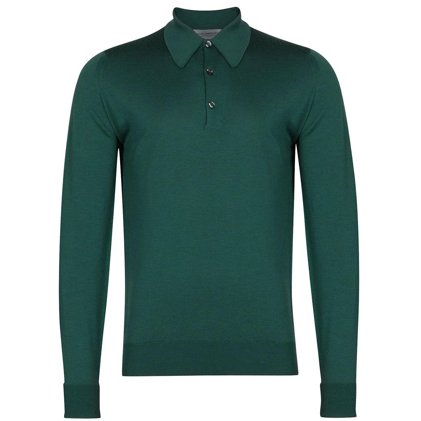 Dorset JOHN SMEDLEY Mens Mod Knitted Polo Shirt DE