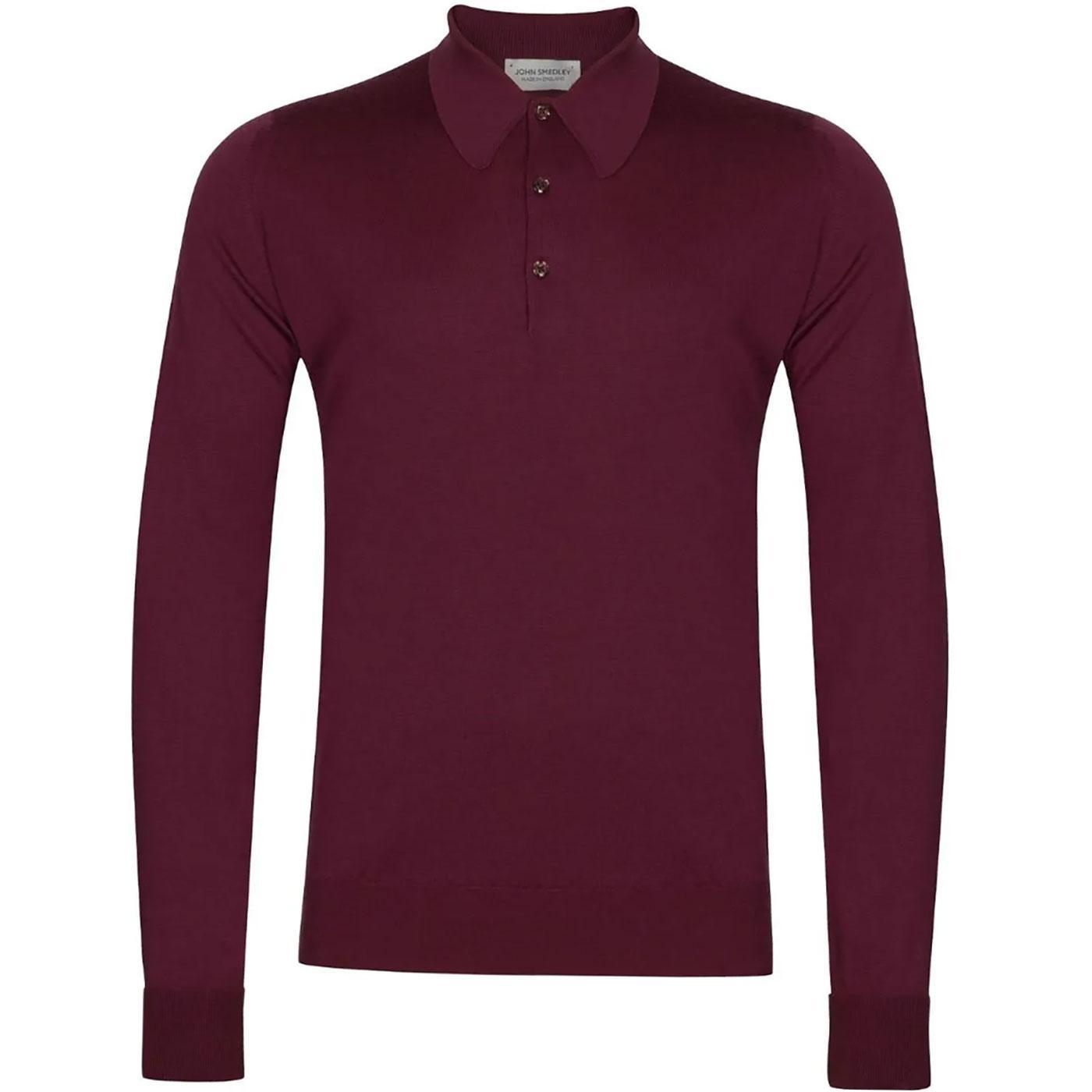 Dorset JOHN SMEDLEY Mens Mod Knitted Polo Shirt EP