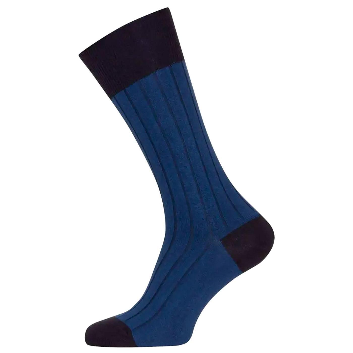 Gamma JOHN SMEDLEY Colour Block Ribbed Socks (I/N)