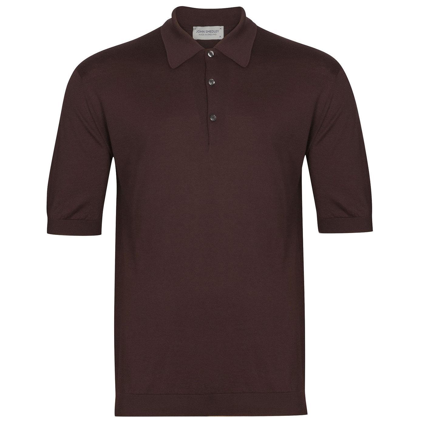 Isis JOHN SMEDLEY Men's Mod Knitted Polo Shirt CB