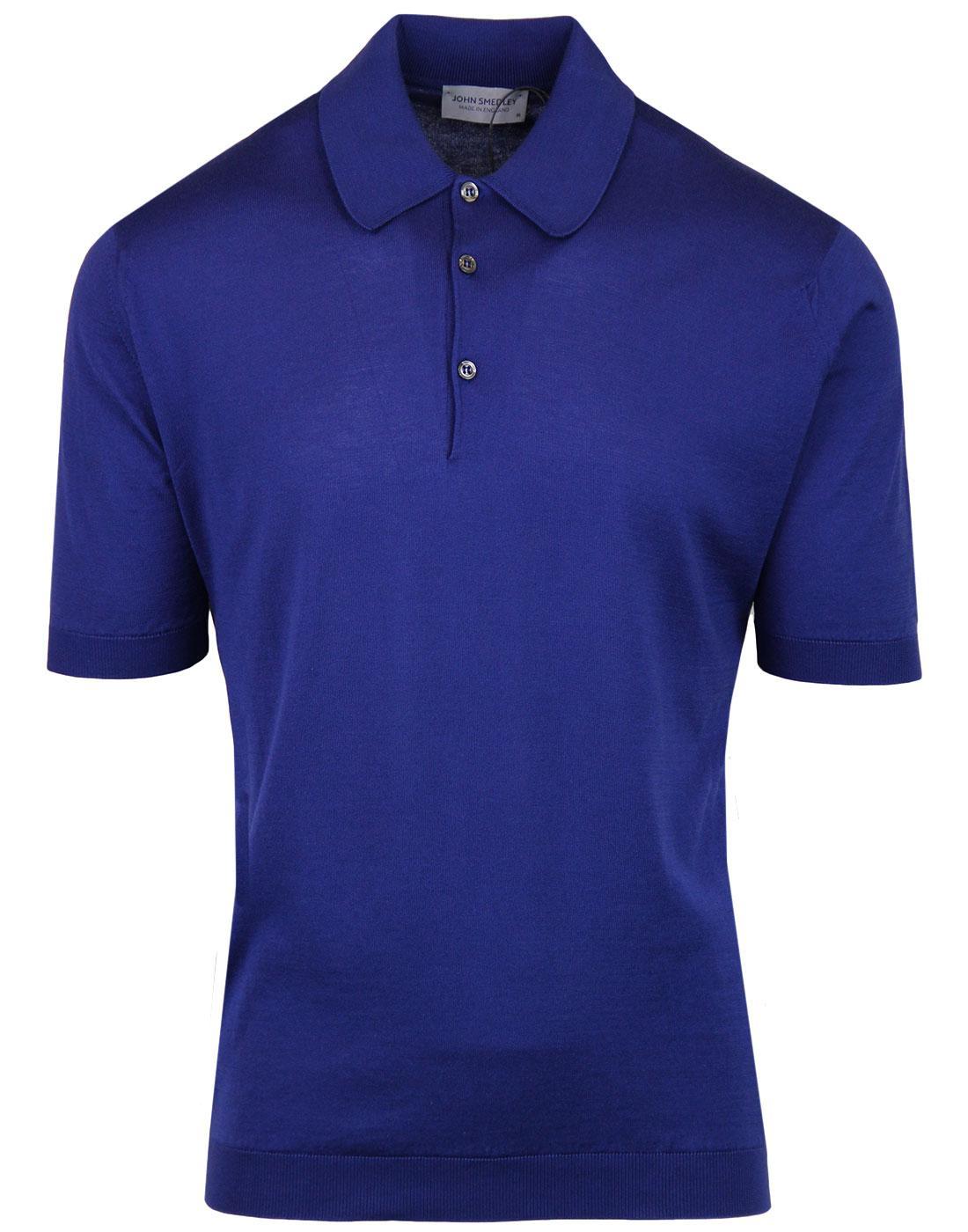 Isis JOHN SMEDLEY Classic Fit Mod Polo Shirt SERGE