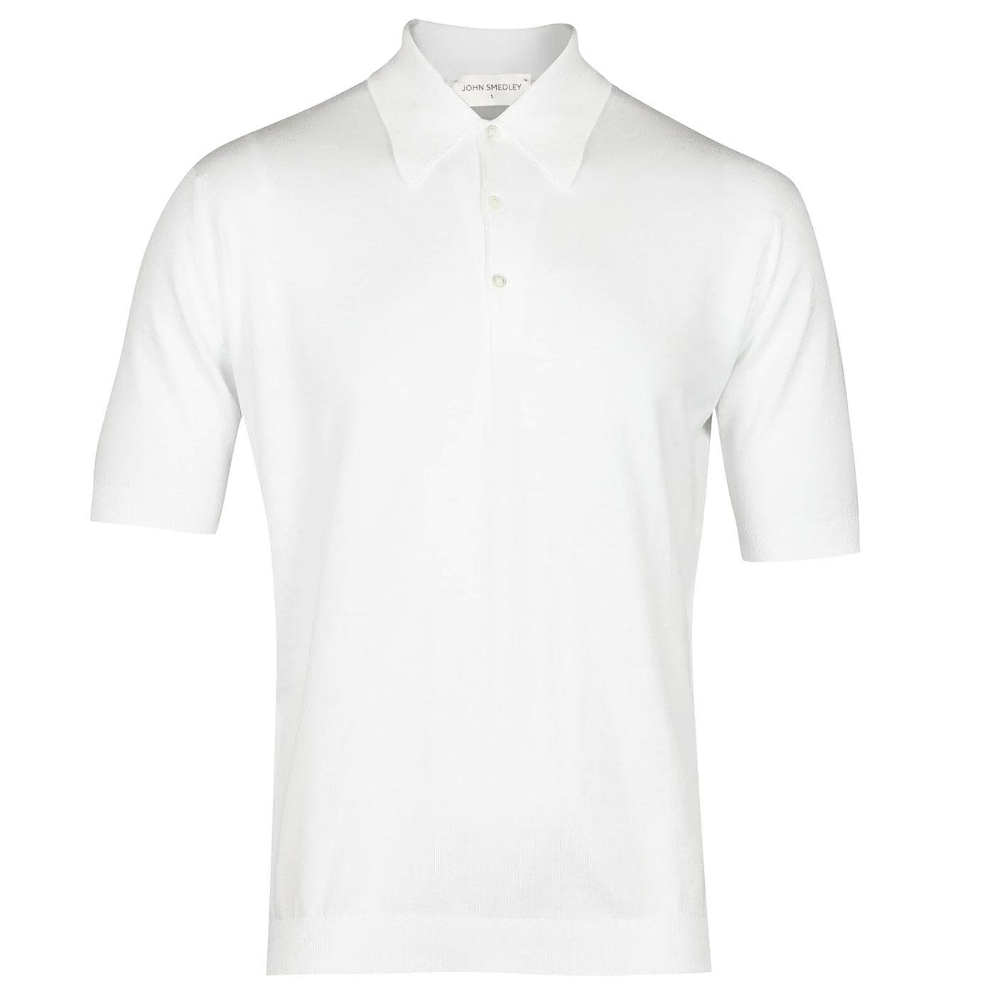Isis JOHN SMEDLEY Retro Knitted Mod Polo Shirt W