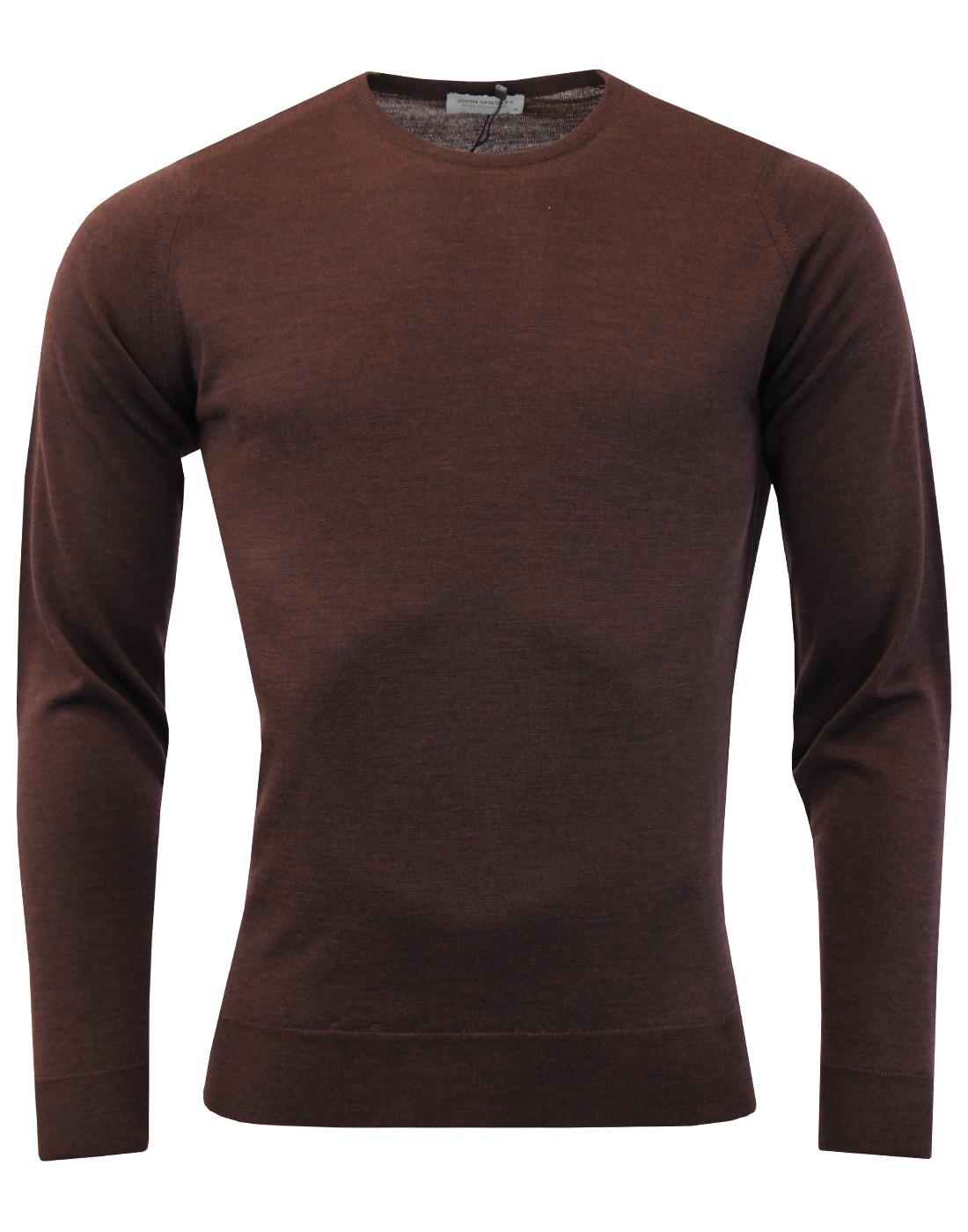 Lundy JOHN SMEDLEY Made in England Crew Jumper CB