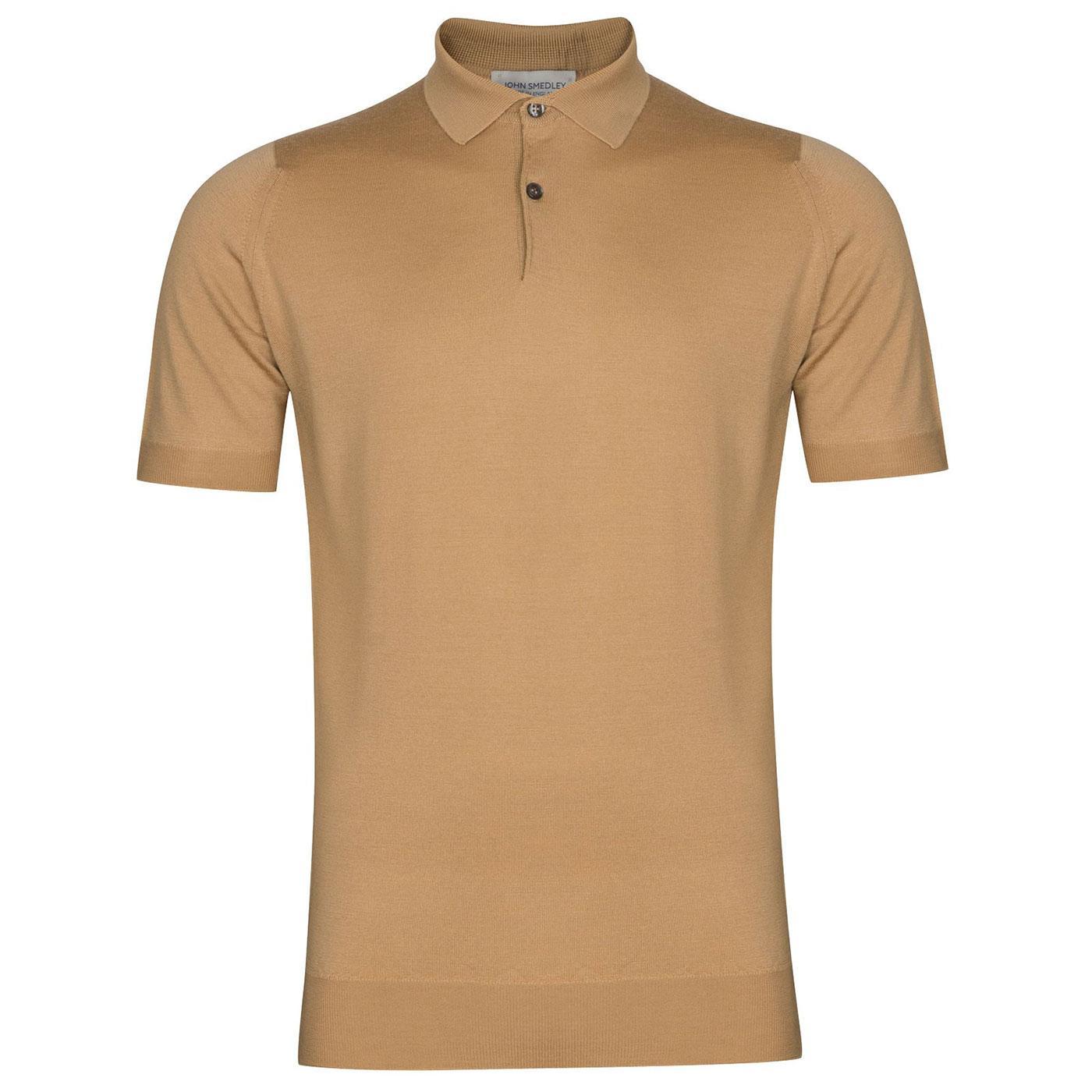 Payton JOHN SMEDLEY Knitted Merino Polo Shirt LC