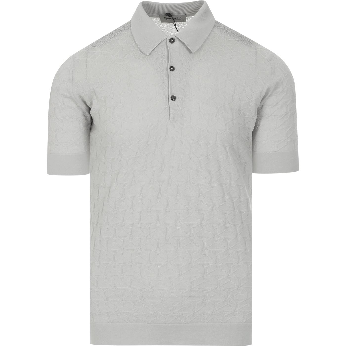 Forestry JOHN SMEDLEY Geo Textured Polo Shirt (C)