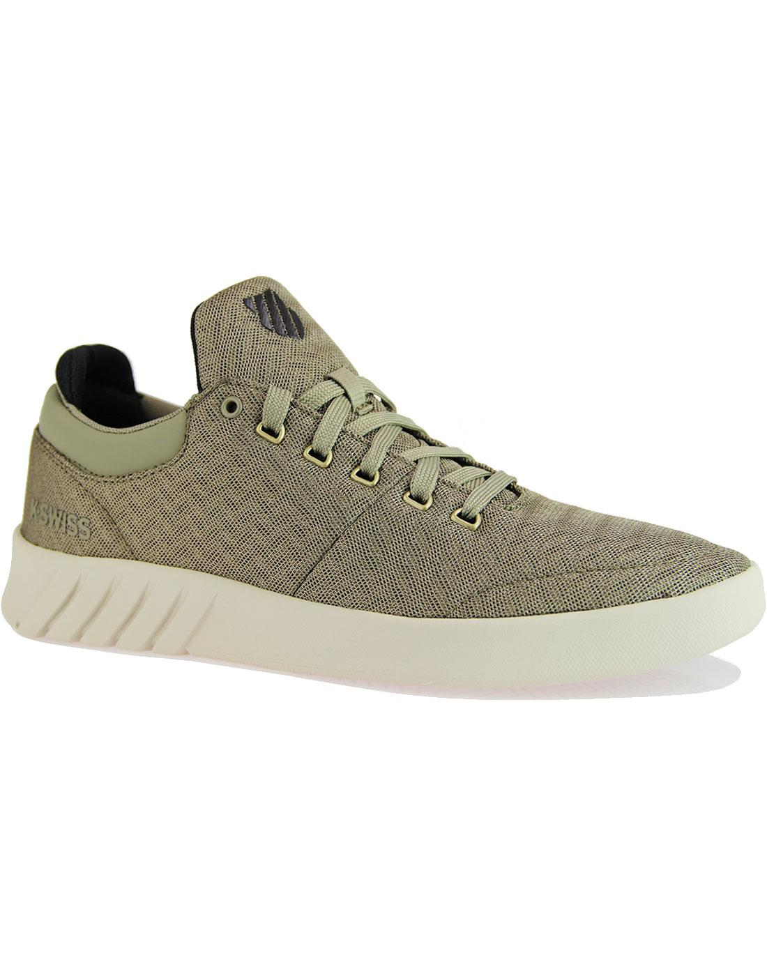 Aero K SWISS Knitted Upper Trainers GREEN