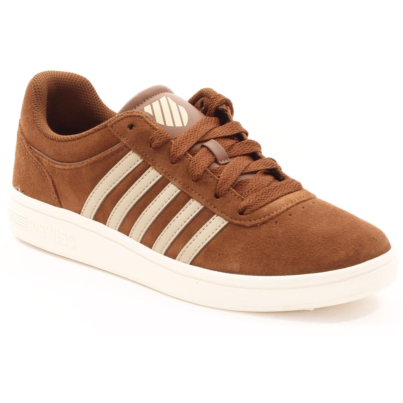 Court Cheswick Suede K-SWISS Retro Trainers BB/AW