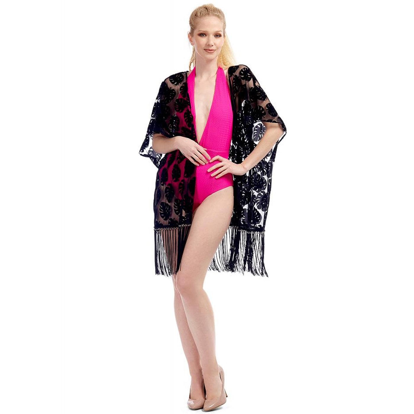 Kady BRIGHT & BEAUTIFUL Retro Devoré Kimono Jacket