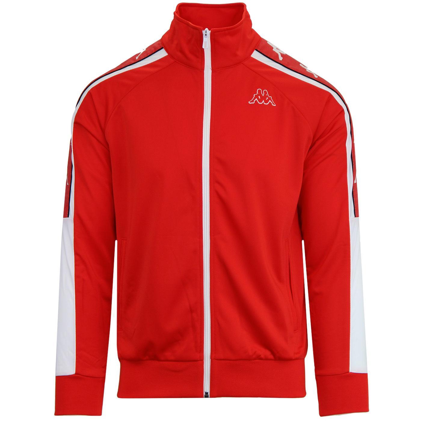Banda Ahran KAPPA Retro 90s Track Jacket Red/White