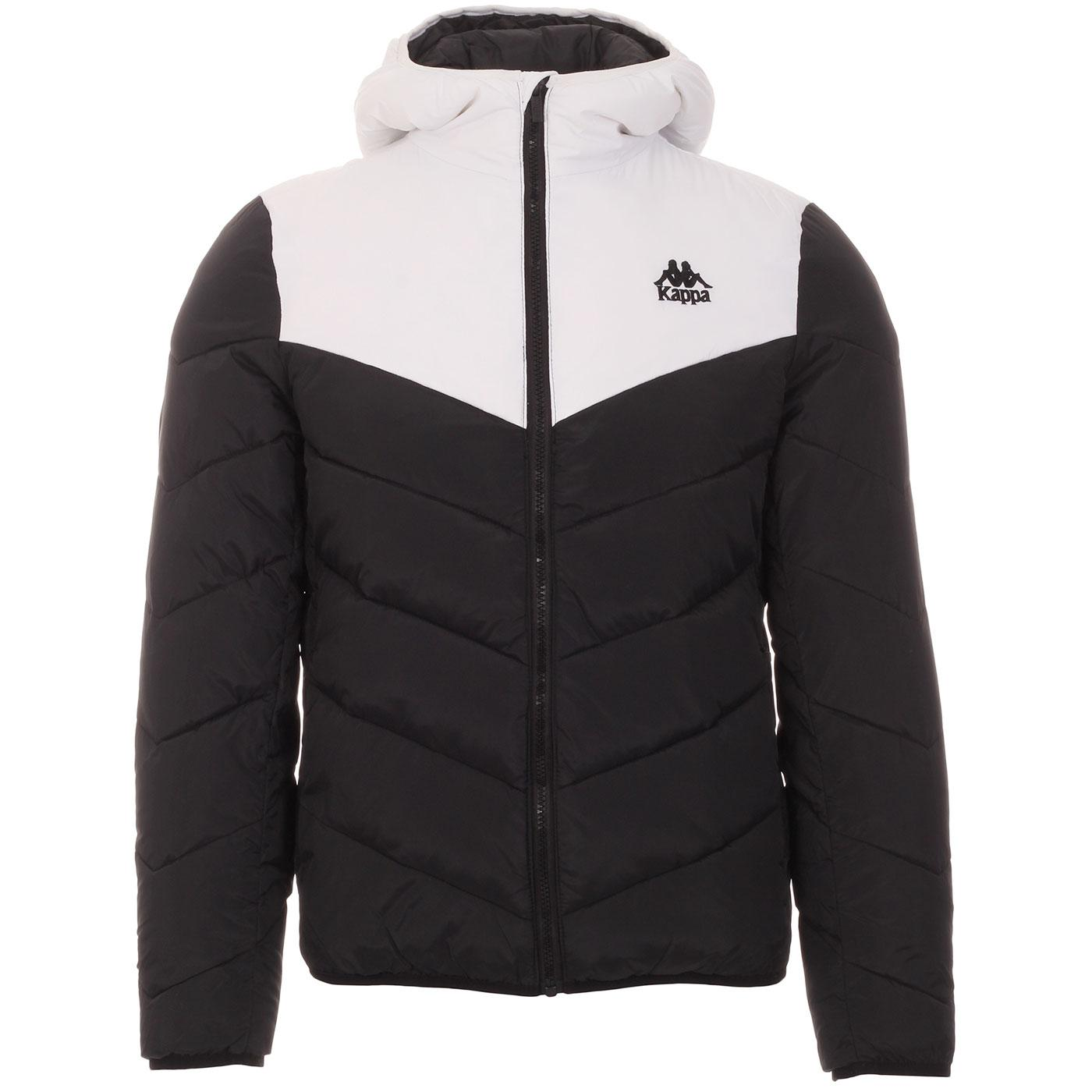 Amarit KAPPA Retro 80s Quilted Puffer Jacket (B/W)