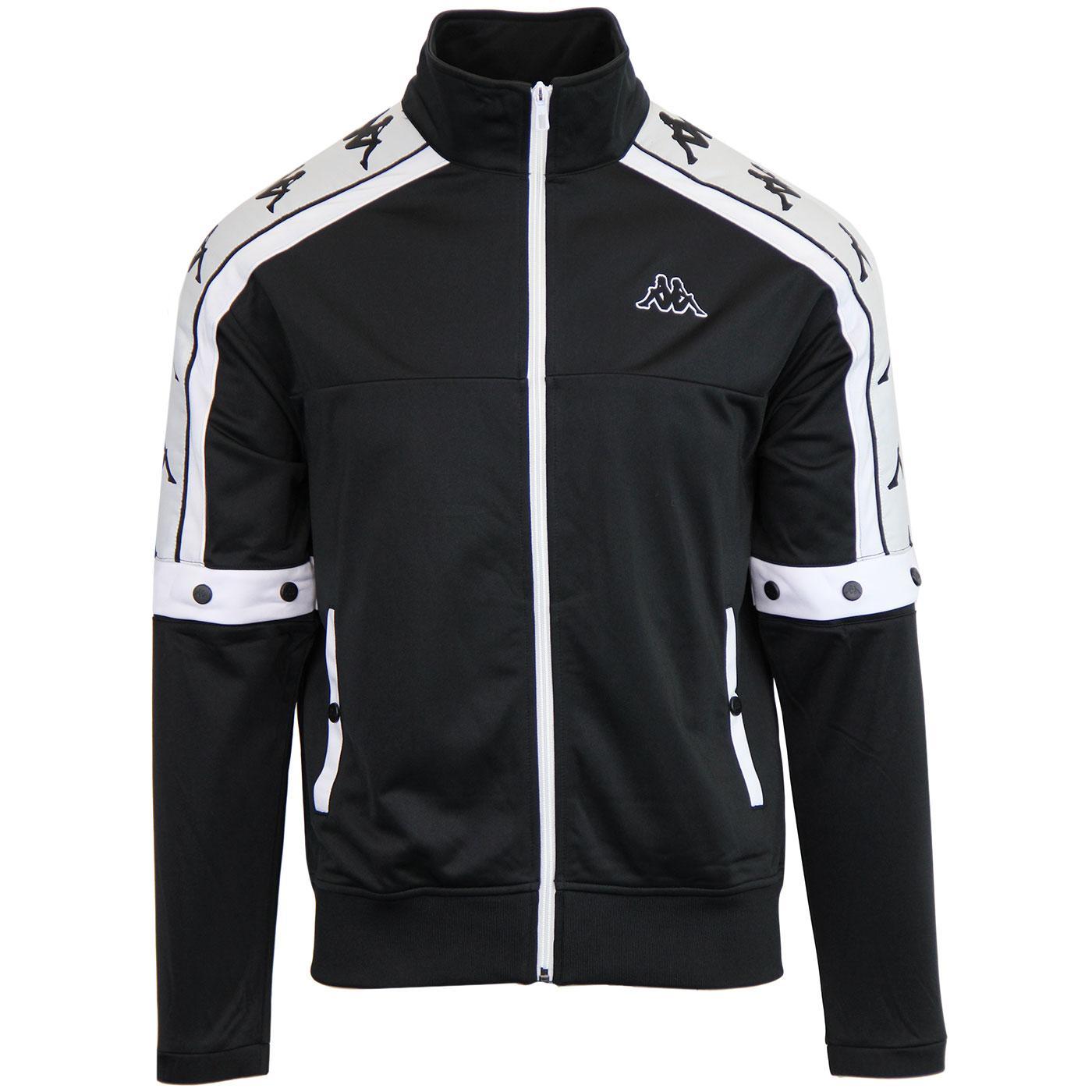 Banda Arany KAPPA Popper Sleeve Track Jacket (B/W)
