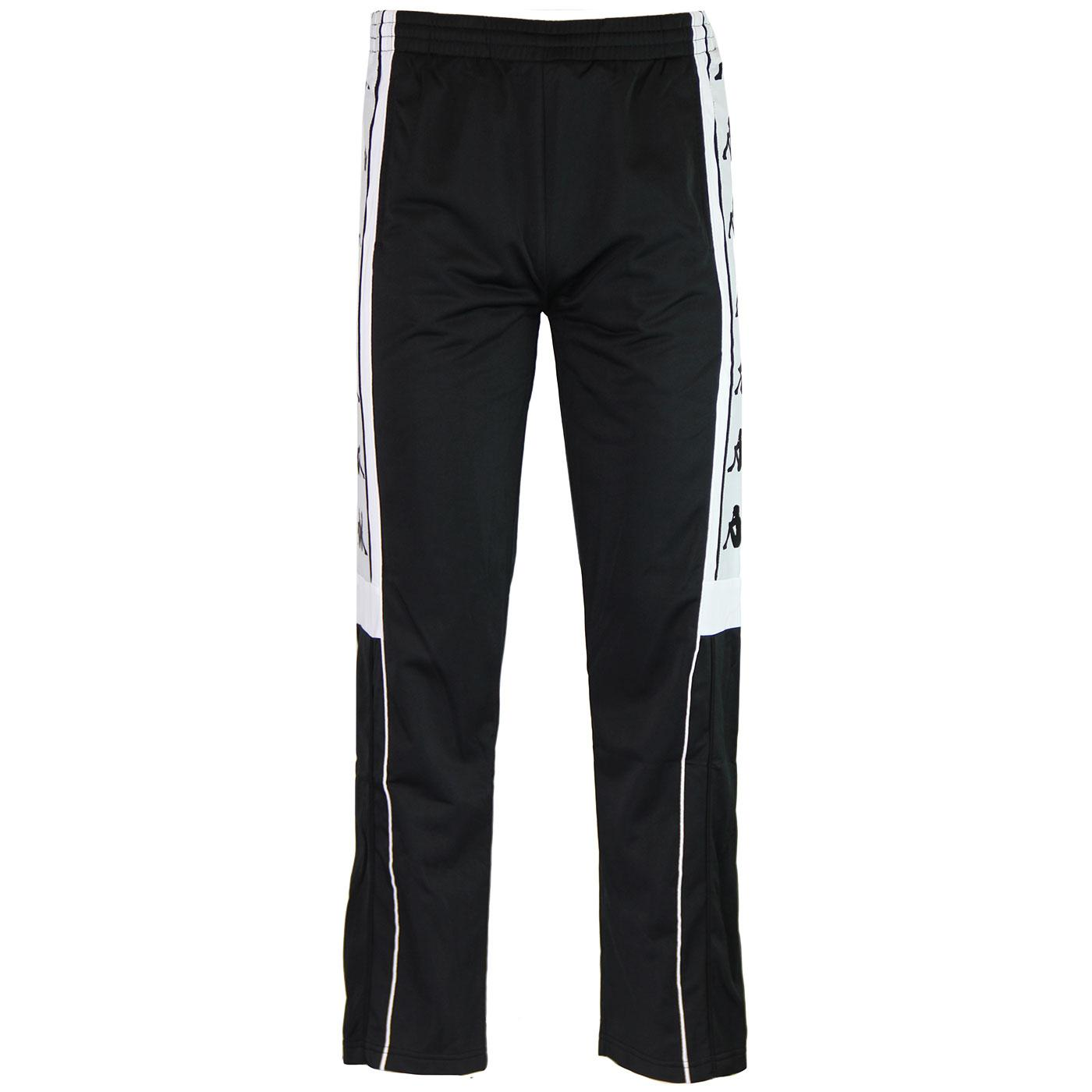 Banda Arpan KAPPA Retro Popper Pants Black/White