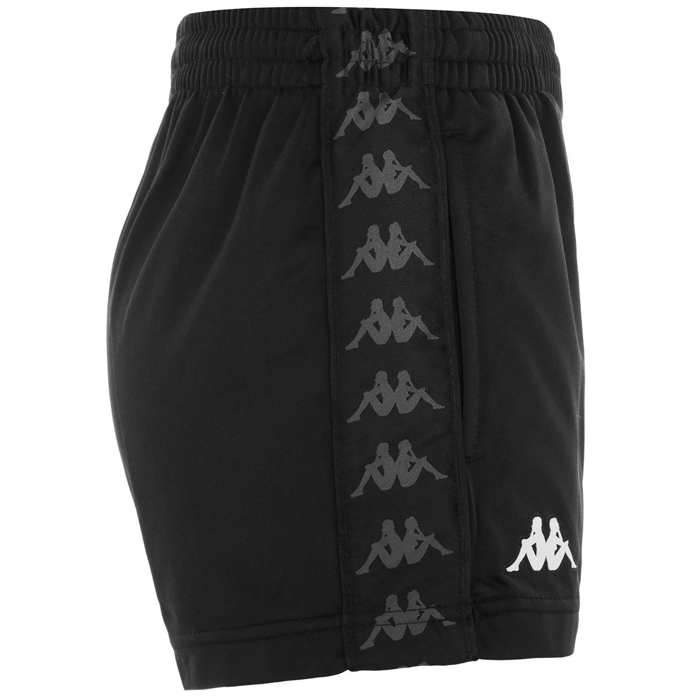 Ladytread KAPPA 222 Banda Women's Shorts (Black)