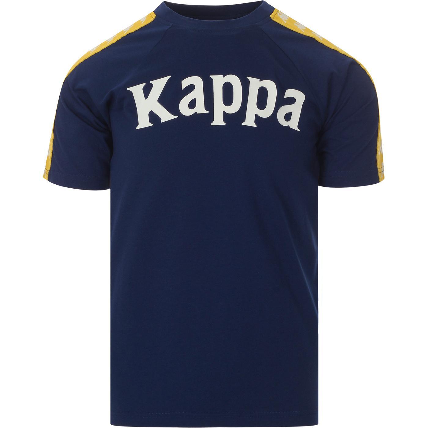 Balima KAPPA Mens Retro 90s Logo Tee (Blue/Yellow)