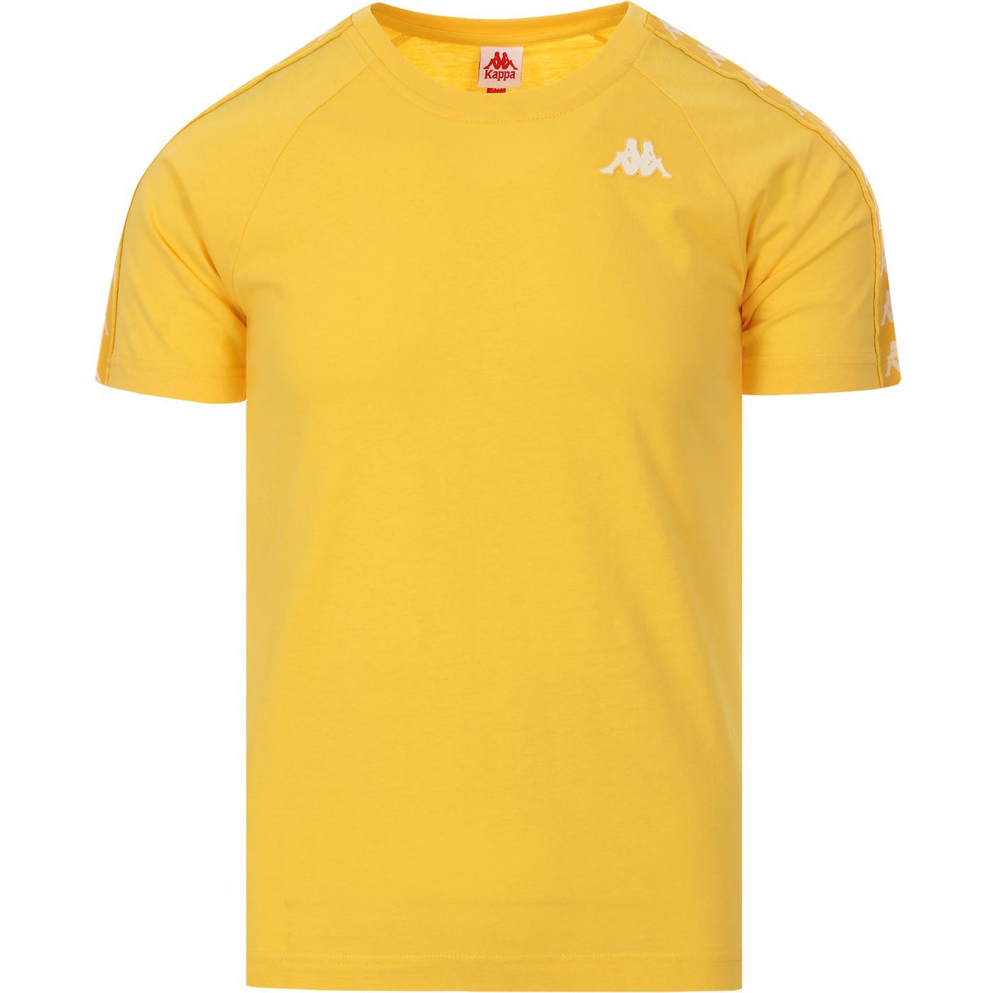 Coen KAPPA Retro 80s Taped Sleeve T-Shirt (Y/W)