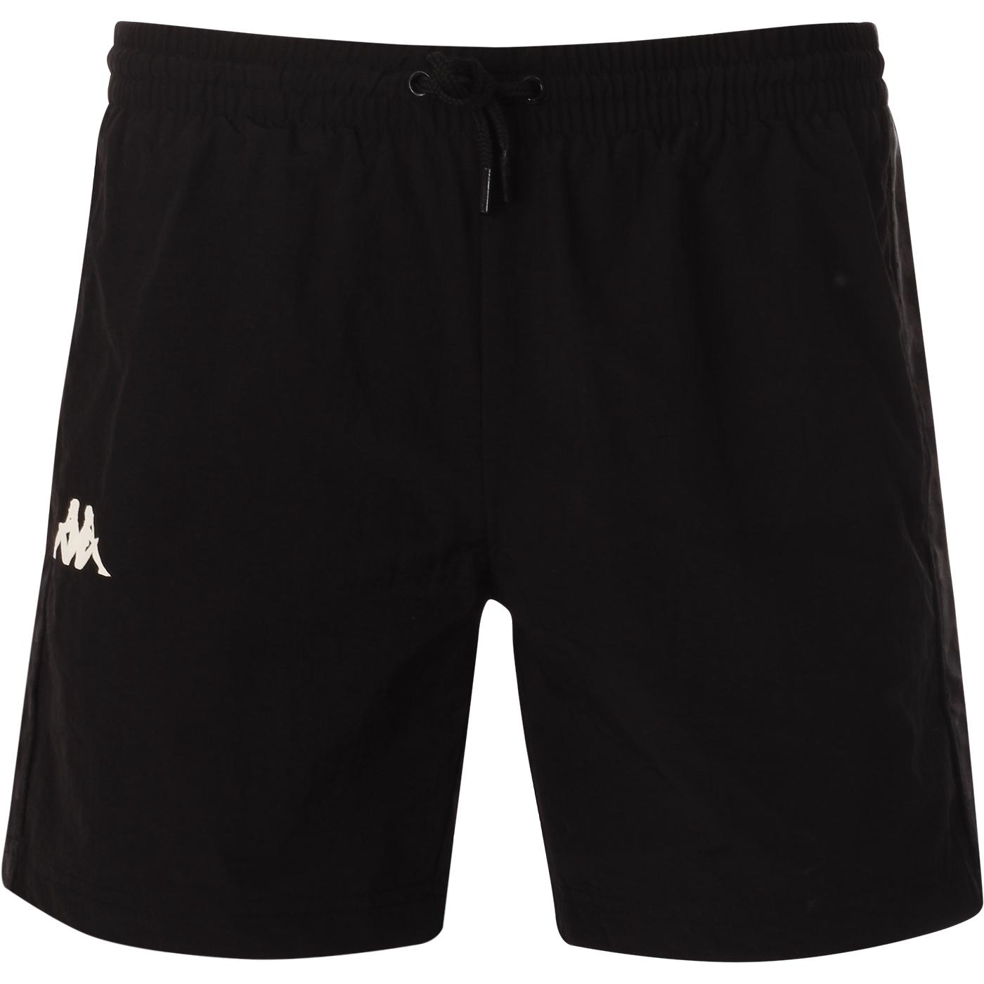Coney KAPPA 222 Banda Swim Shorts (Black/White)