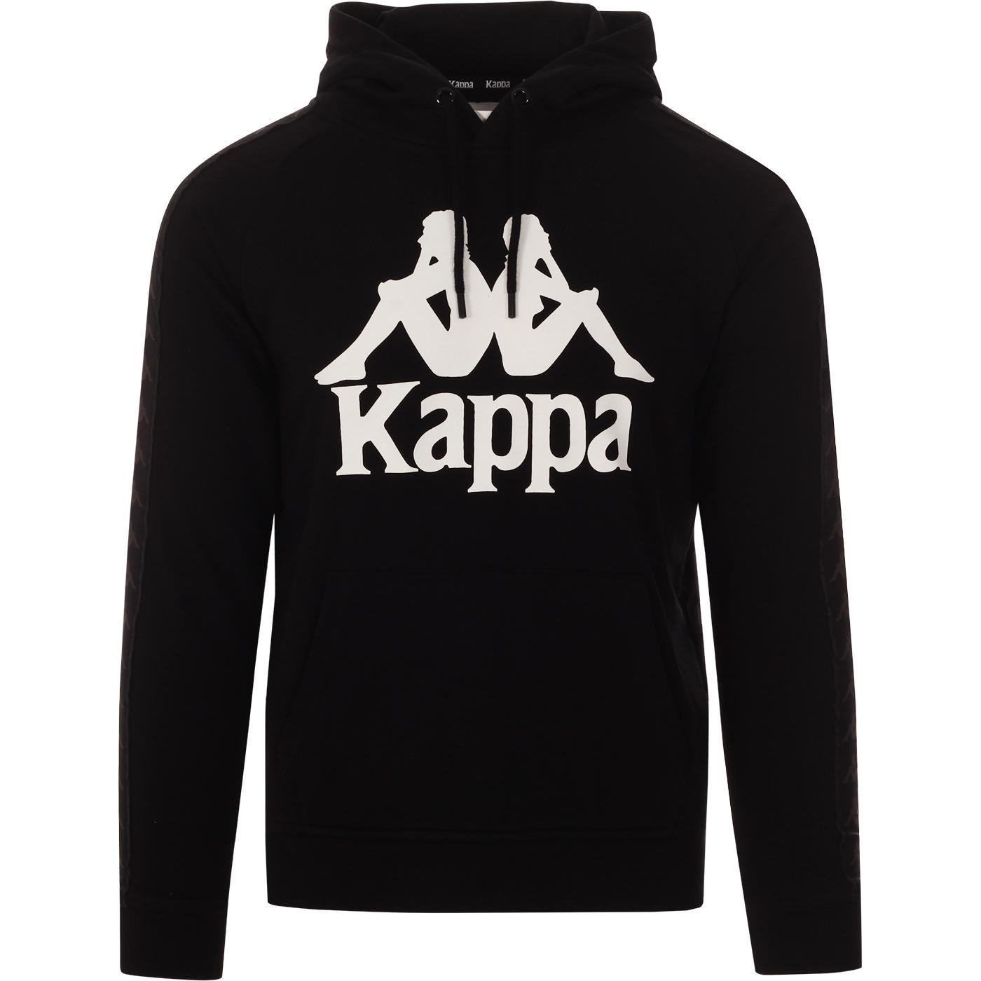 KAPPA Hurtados 222 Banda Hooded Sweatshirt (Black)