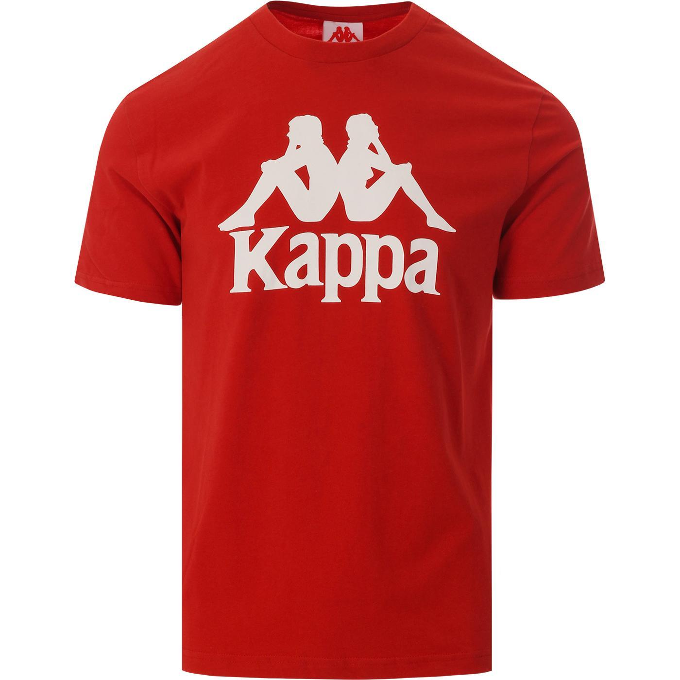 pañuelo Vegetación declarar  KAPPA Tahiti Retro 90s Classic Omni Logo Tee in Red/White