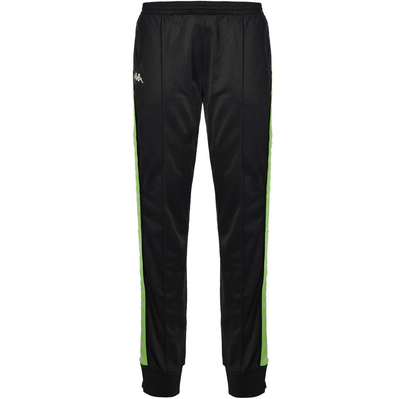 KAPPA Banda Rastoria 222 Track Pants (Black/Neon)