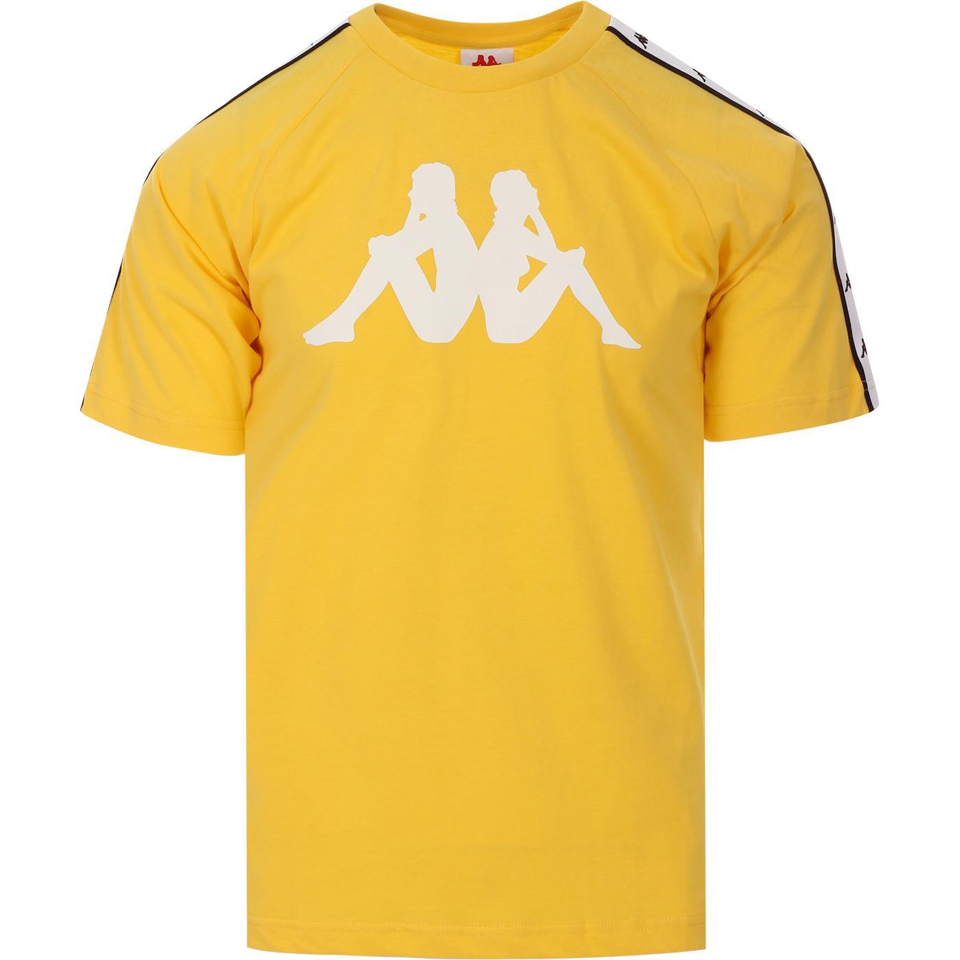 Tait KAPPA Retro 90s Omni Logo Tee (Yellow/White)
