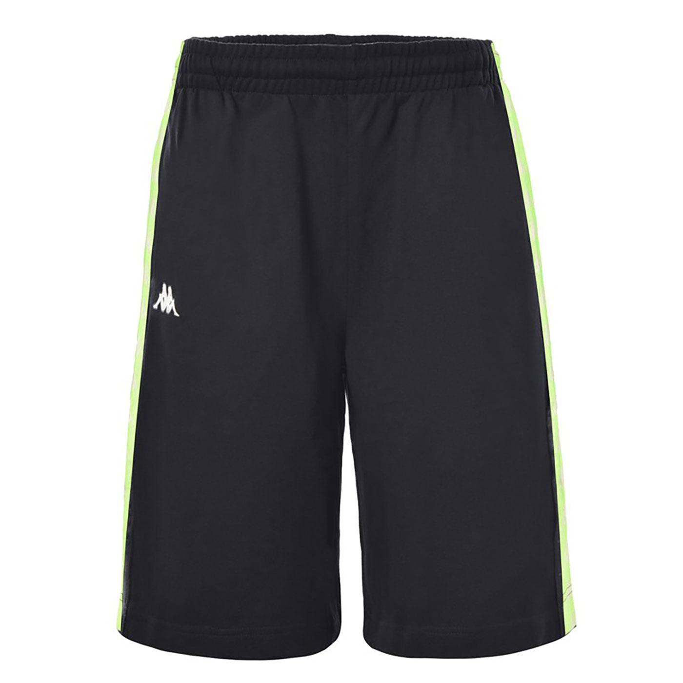 Treads Neon KAPPA Men's 222 Banda Logo Tape Shorts